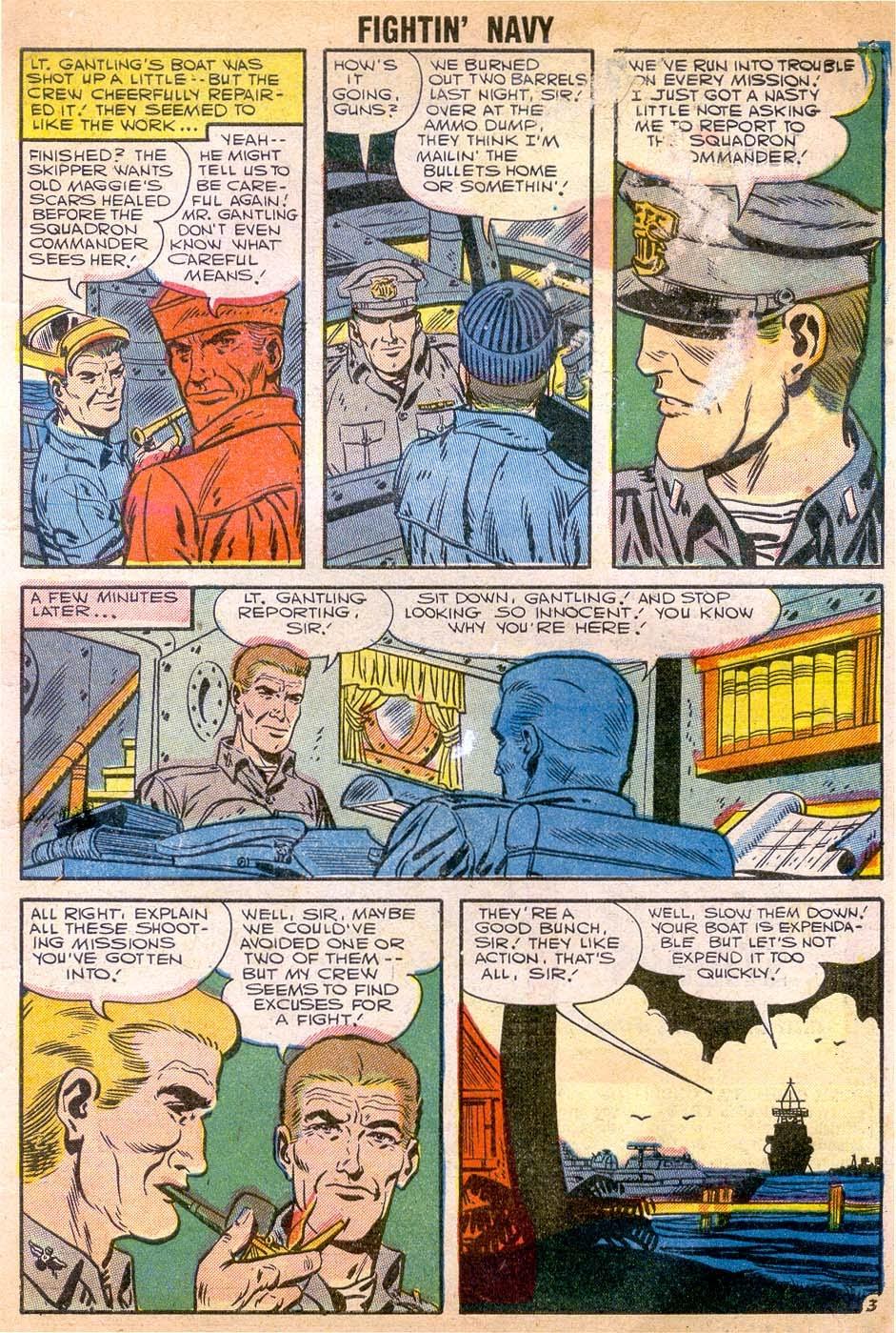Read online Fightin' Navy comic -  Issue #79 - 5