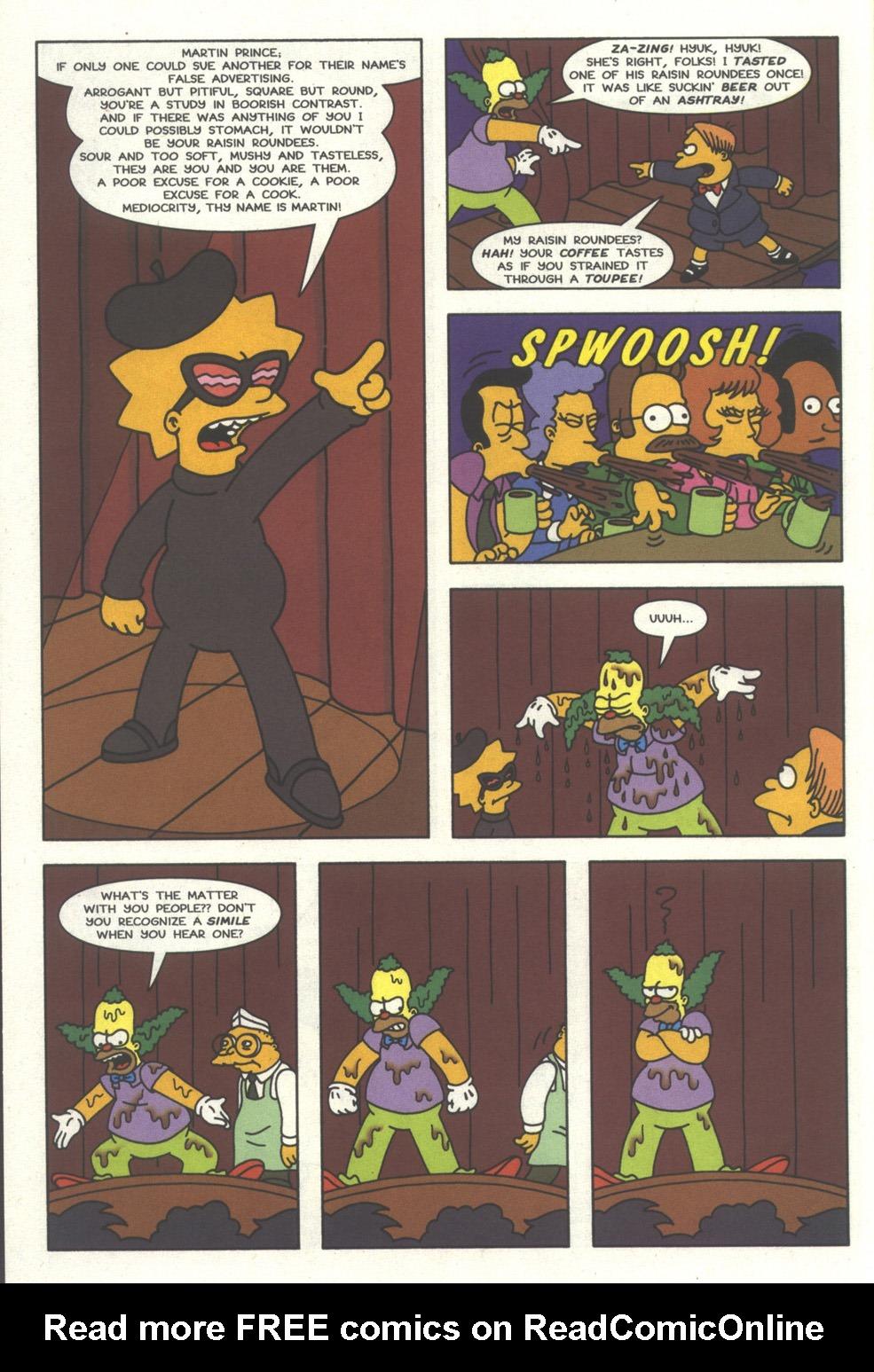 Read online Simpsons Comics comic -  Issue #32 - 13
