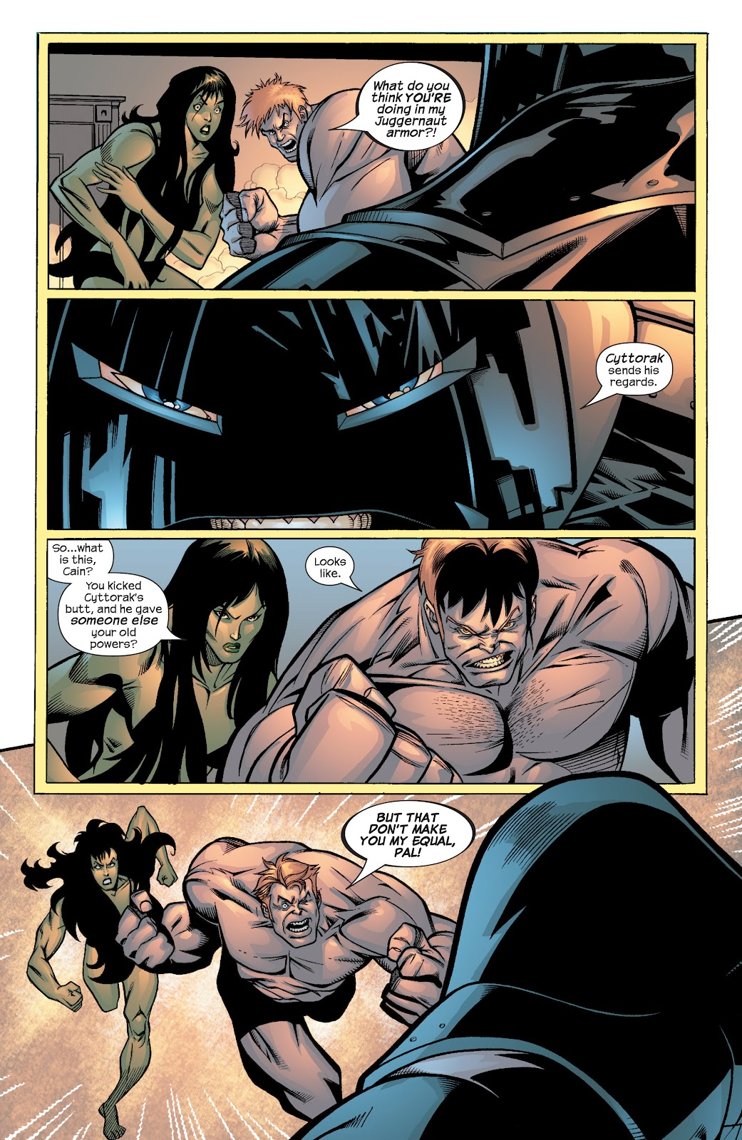 Uncanny X-Men (1963) issue 436 - Page 4