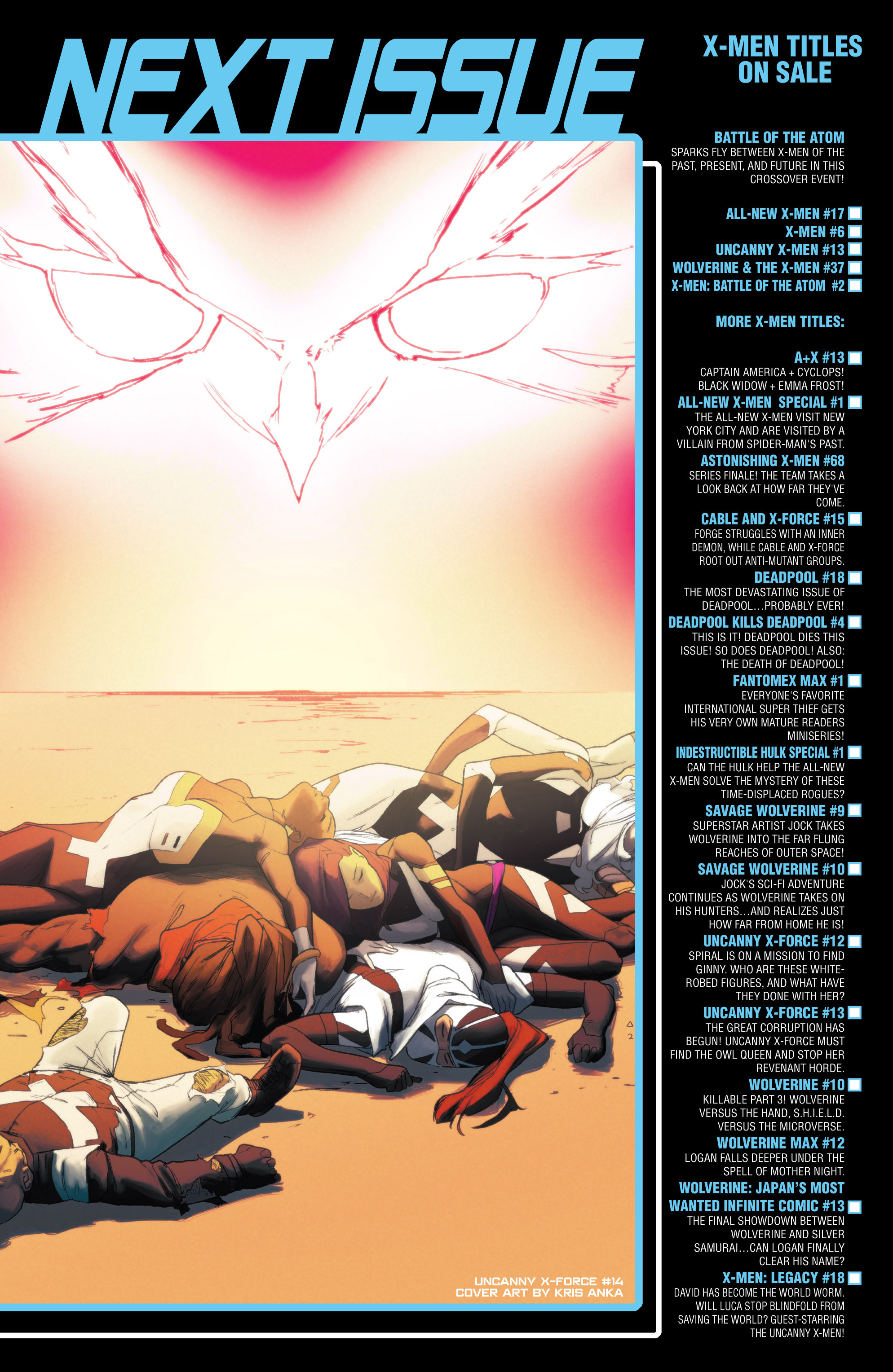 Read online Uncanny X-Force (2013) comic -  Issue #13 - 23