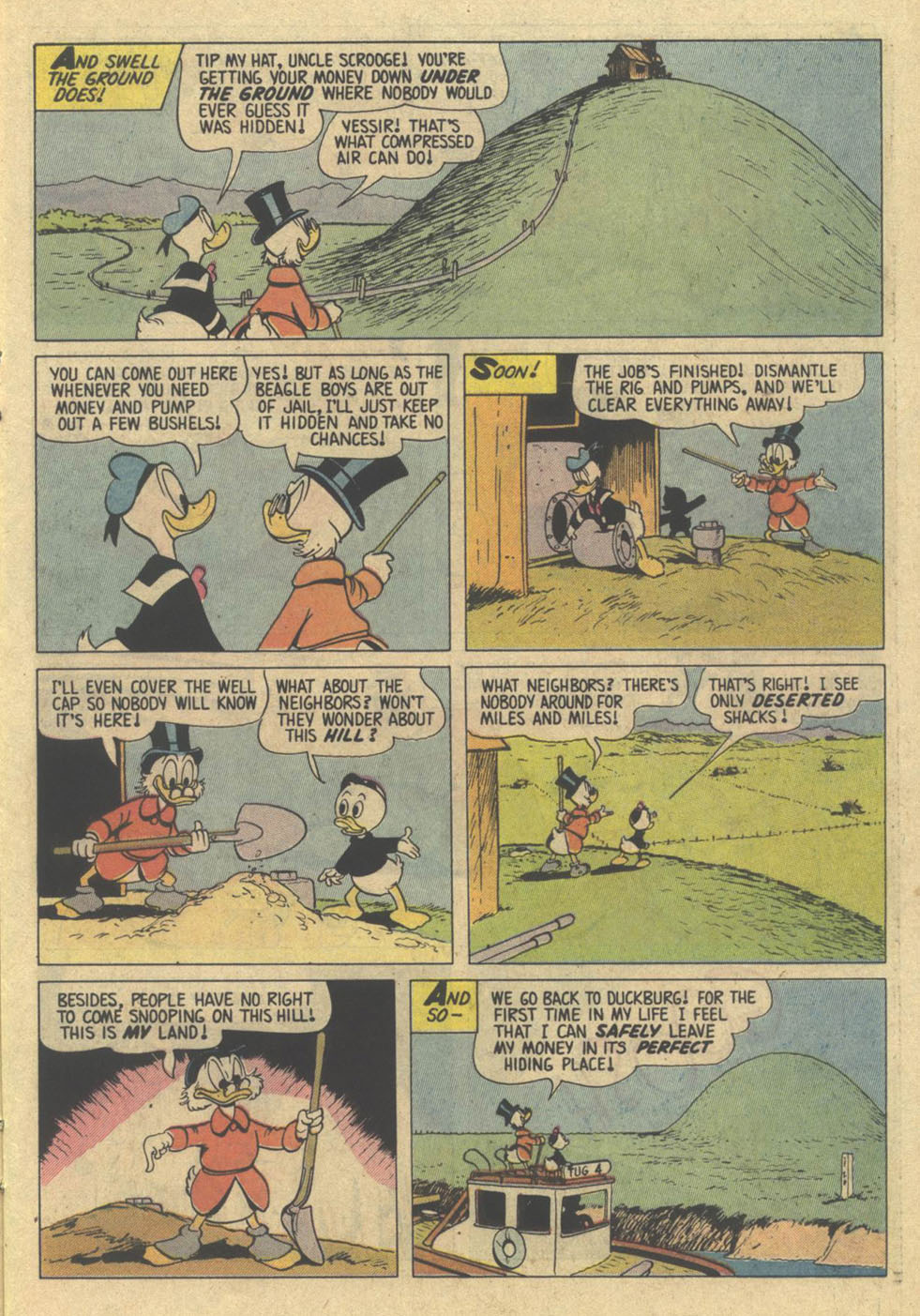 Read online Uncle Scrooge (1953) comic -  Issue #209 - 15