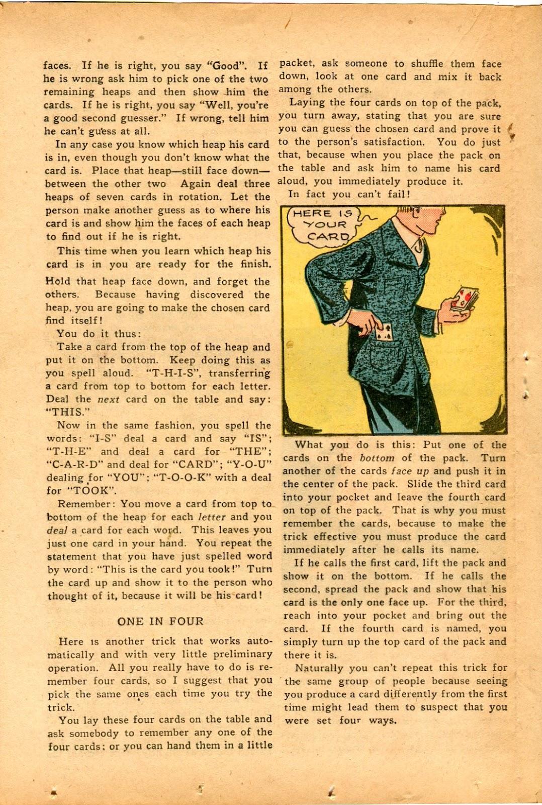Read online Super-Magician Comics comic -  Issue #33 - 28