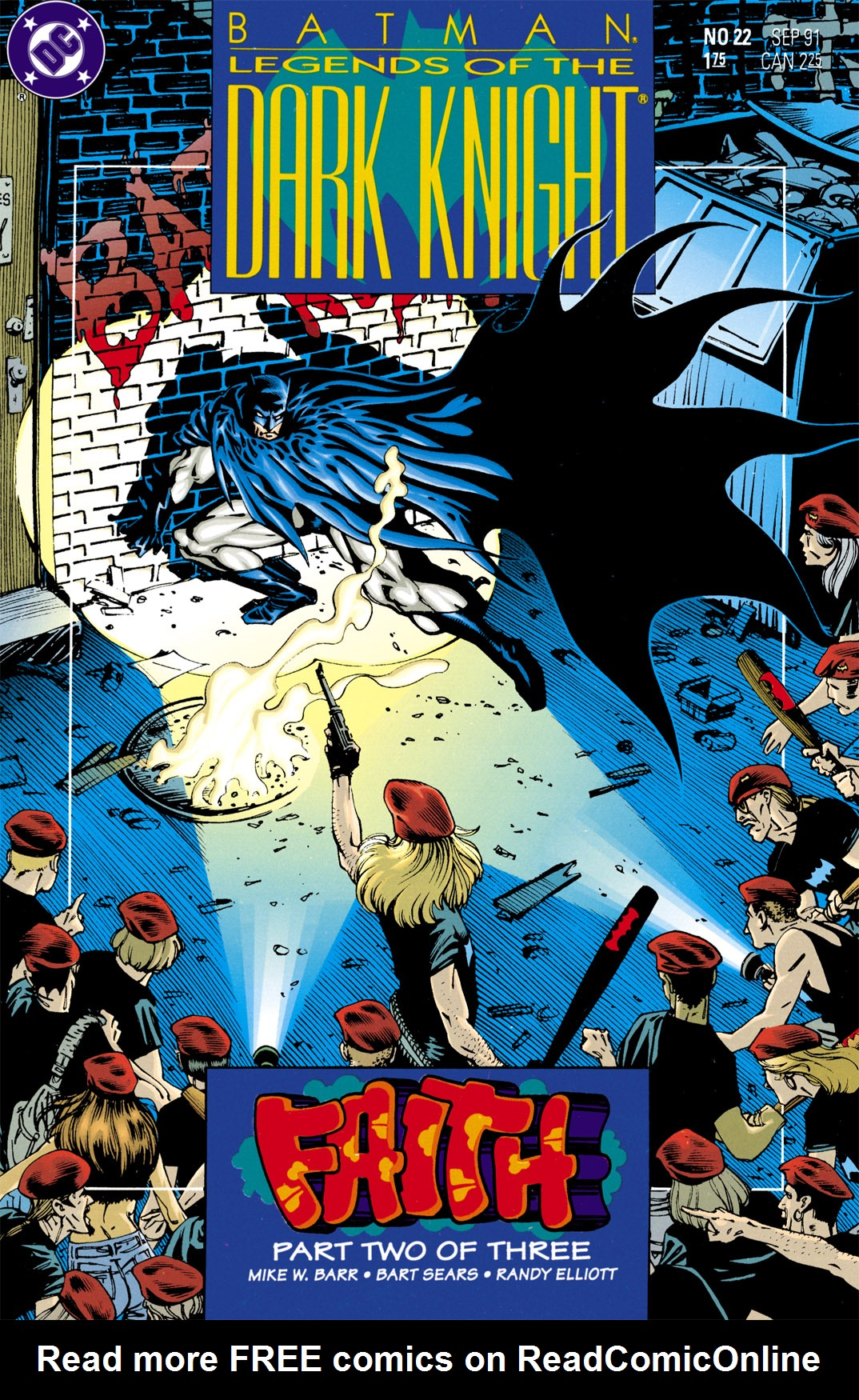 Batman: Legends of the Dark Knight 22 Page 1
