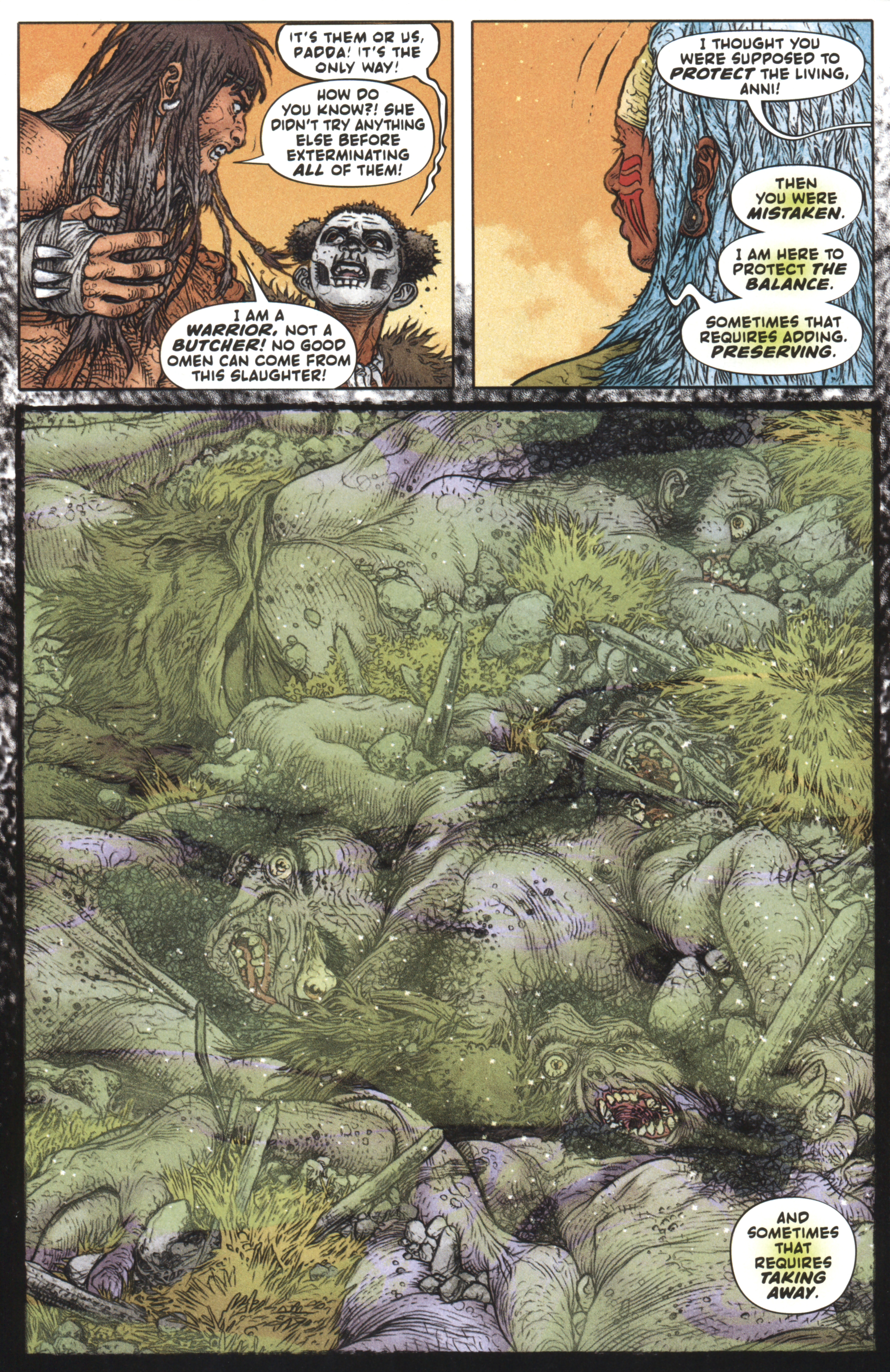 Read online Book of Death: Legends of the Geomancer comic -  Issue #3 - 15