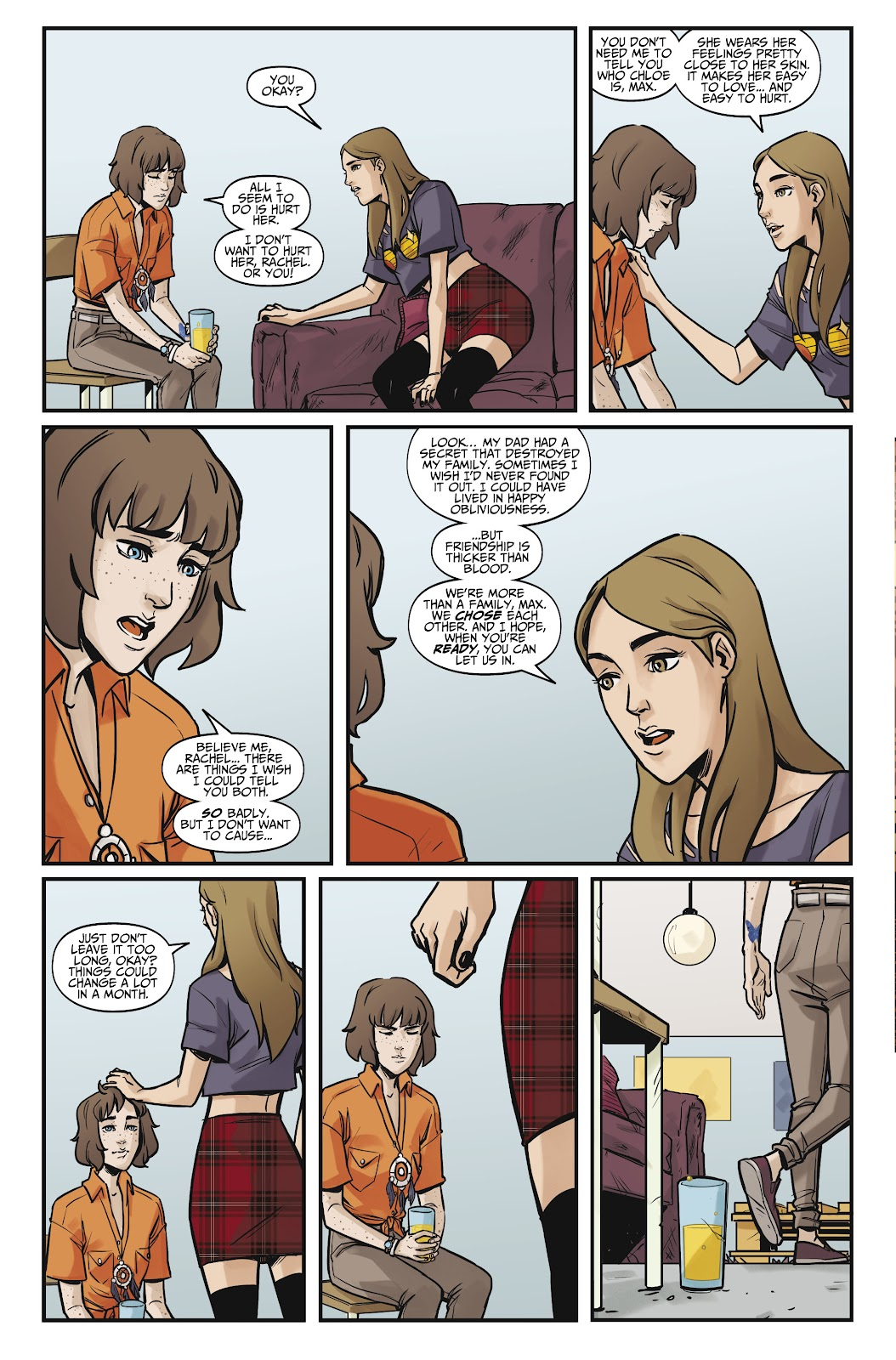 Read online Life is Strange comic -  Issue #7 - 20