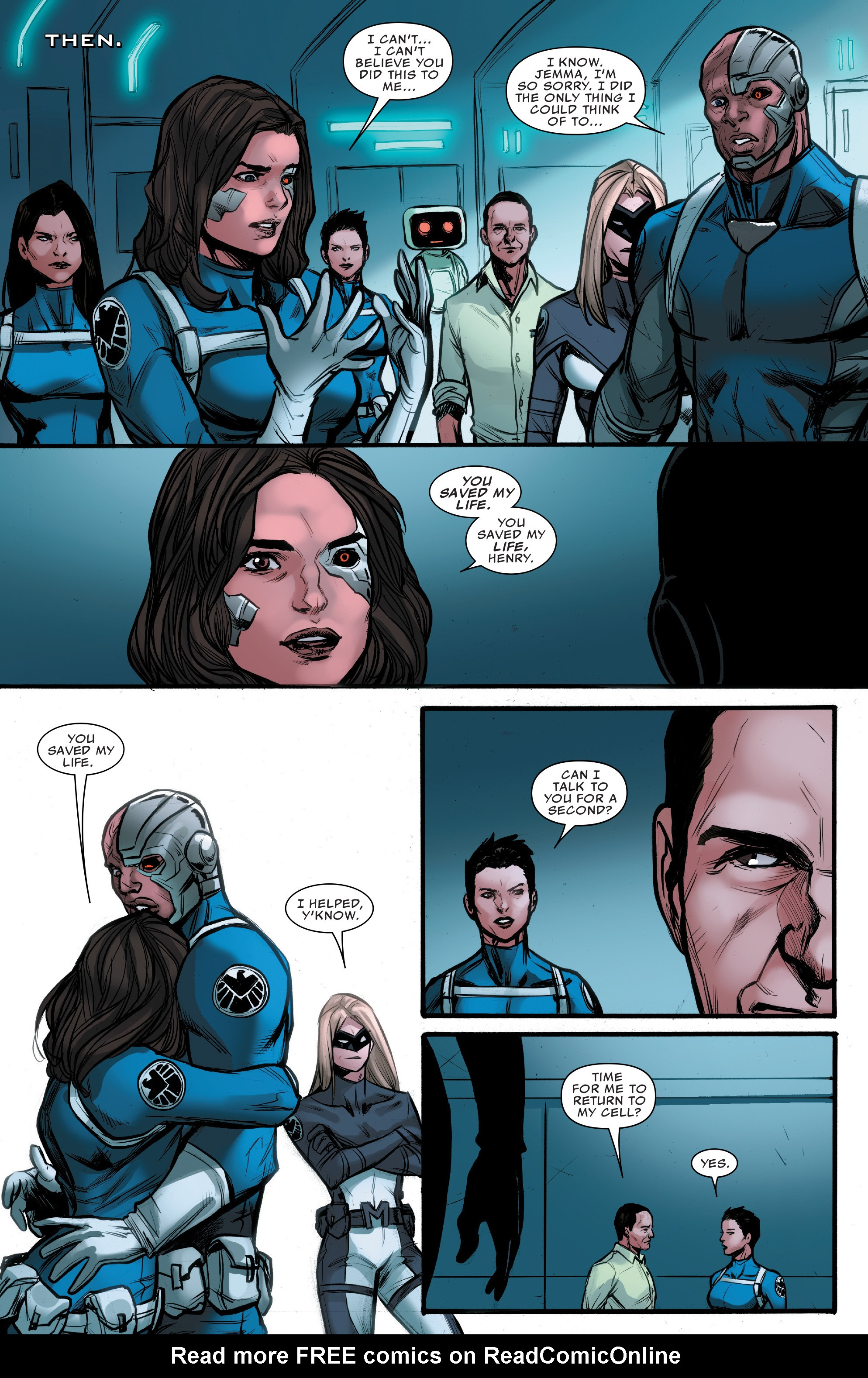 Read online Agents of S.H.I.E.L.D. comic -  Issue #10 - 18