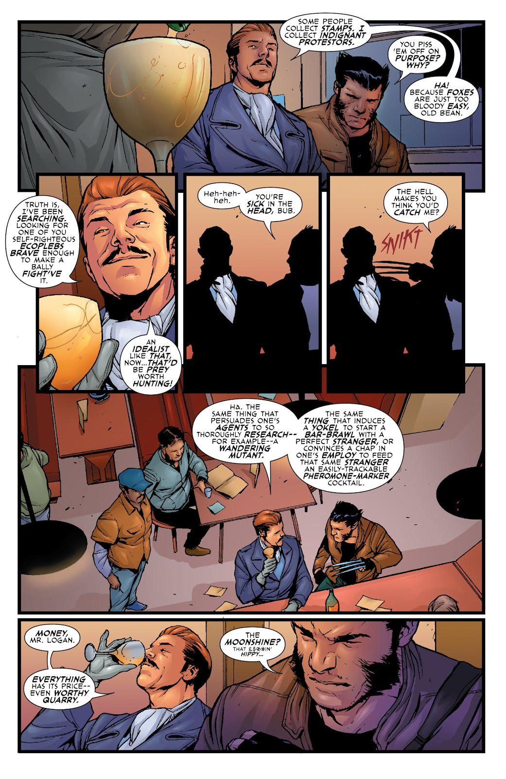 Wolverine: Dangerous Games issue Full - Page 16