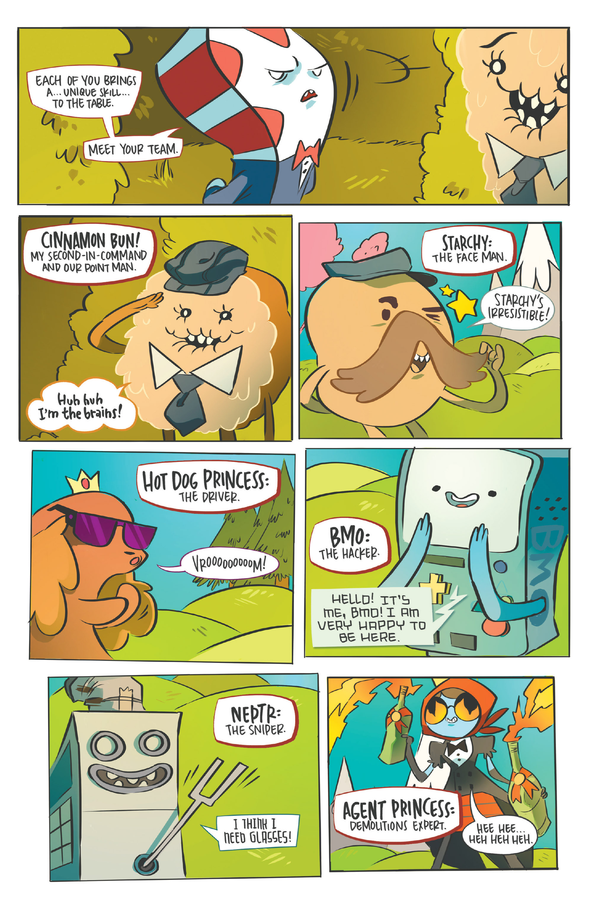 Read online Adventure Time: Candy Capers comic -  Issue #5 - 21