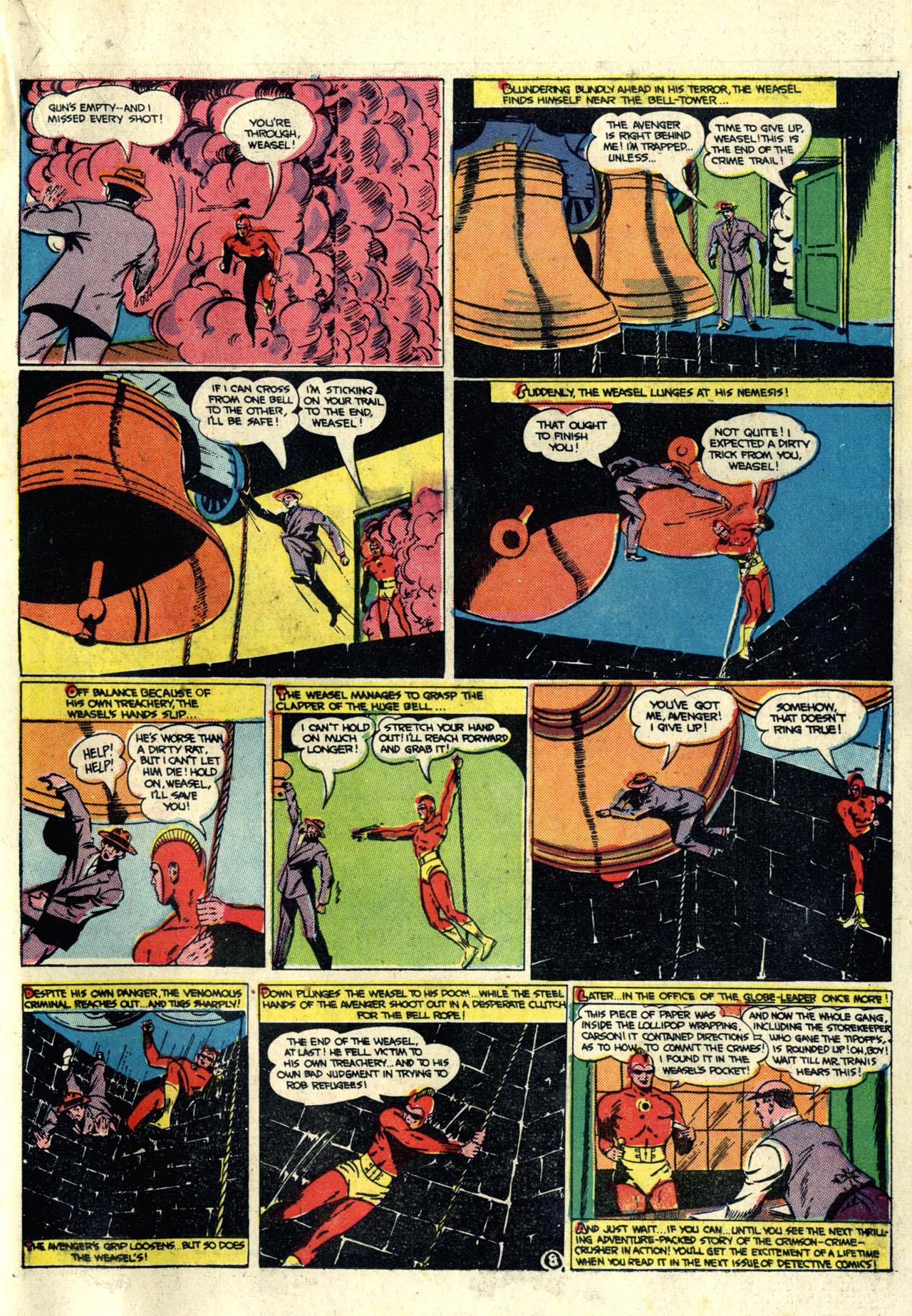 Read online Detective Comics (1937) comic -  Issue #76 - 35