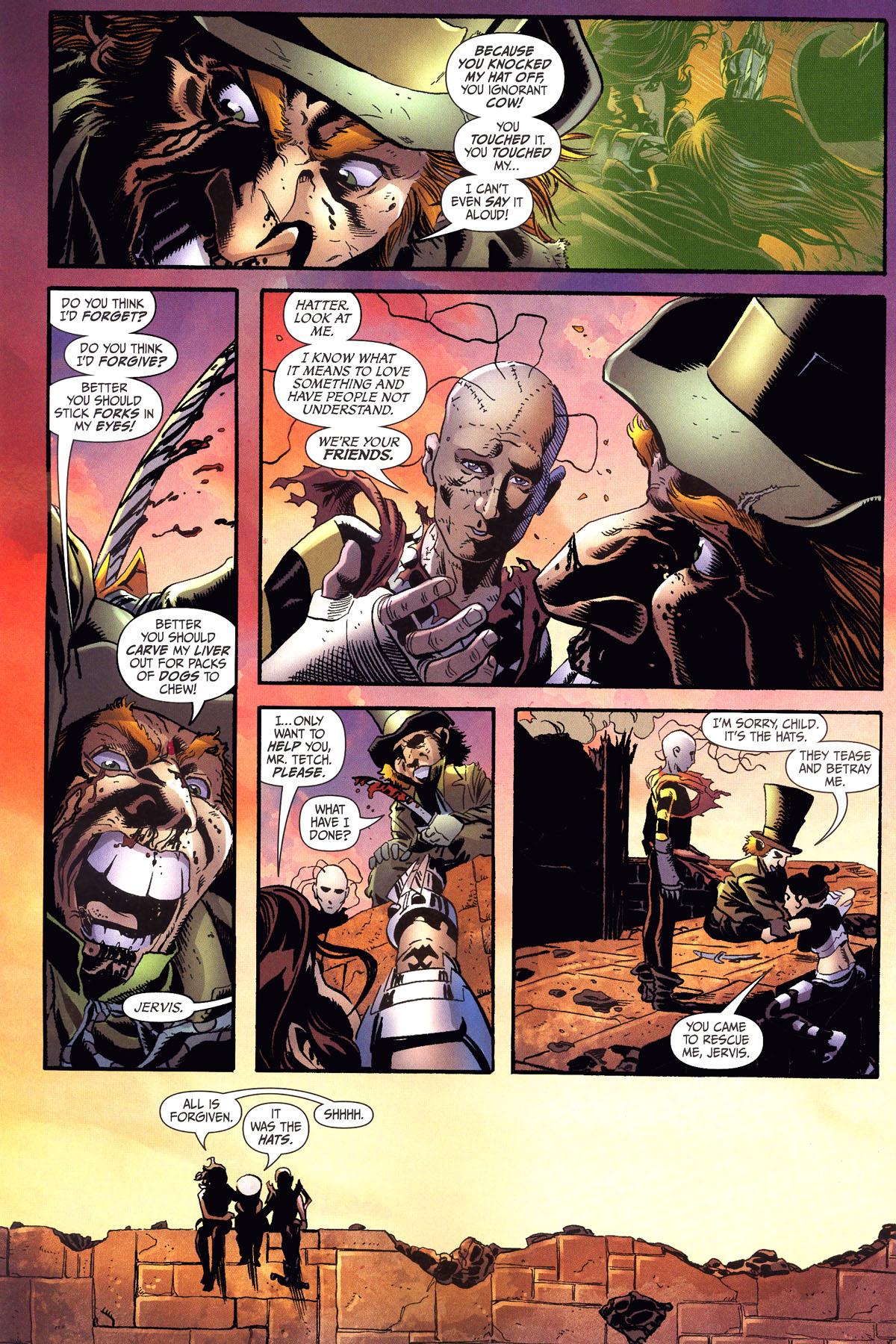 Read online Secret Six (2006) comic -  Issue #6 - 19
