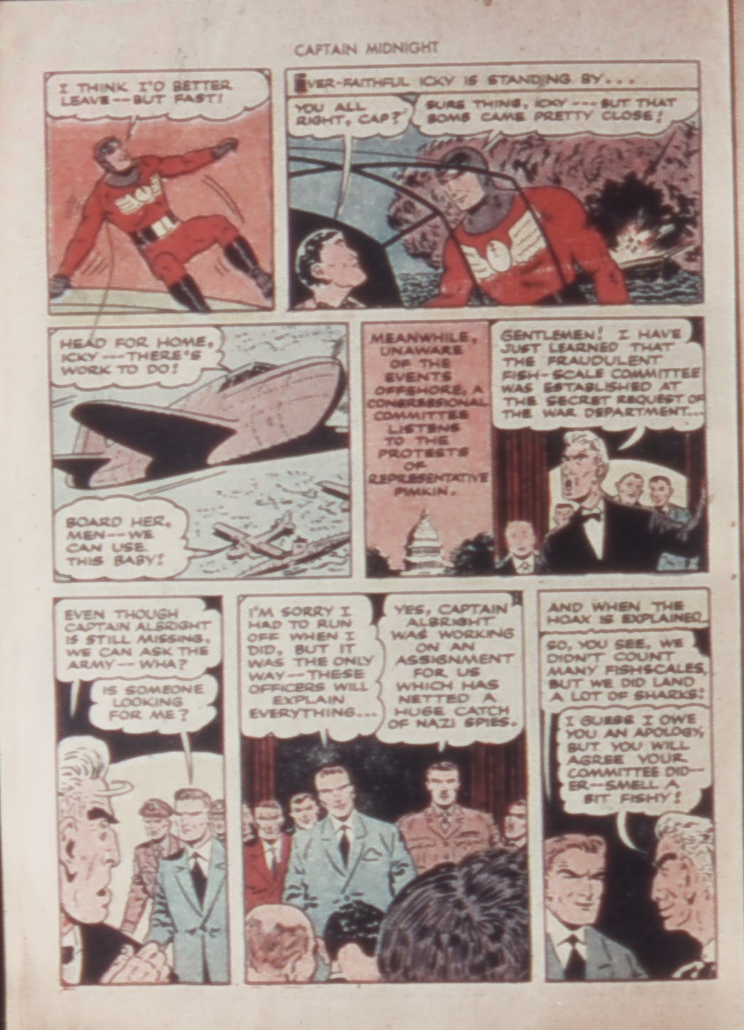 Captain Midnight (1942) issue 21 - Page 22