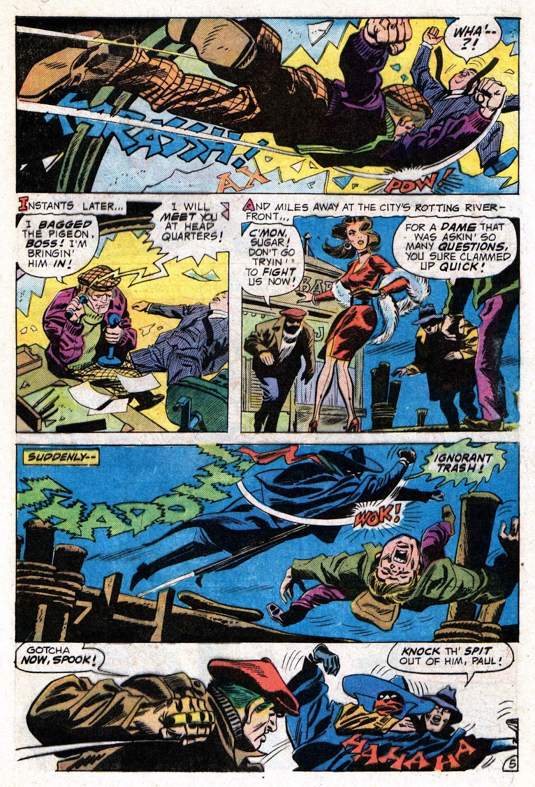 The Shadow (1973) issue 9 - Page 9