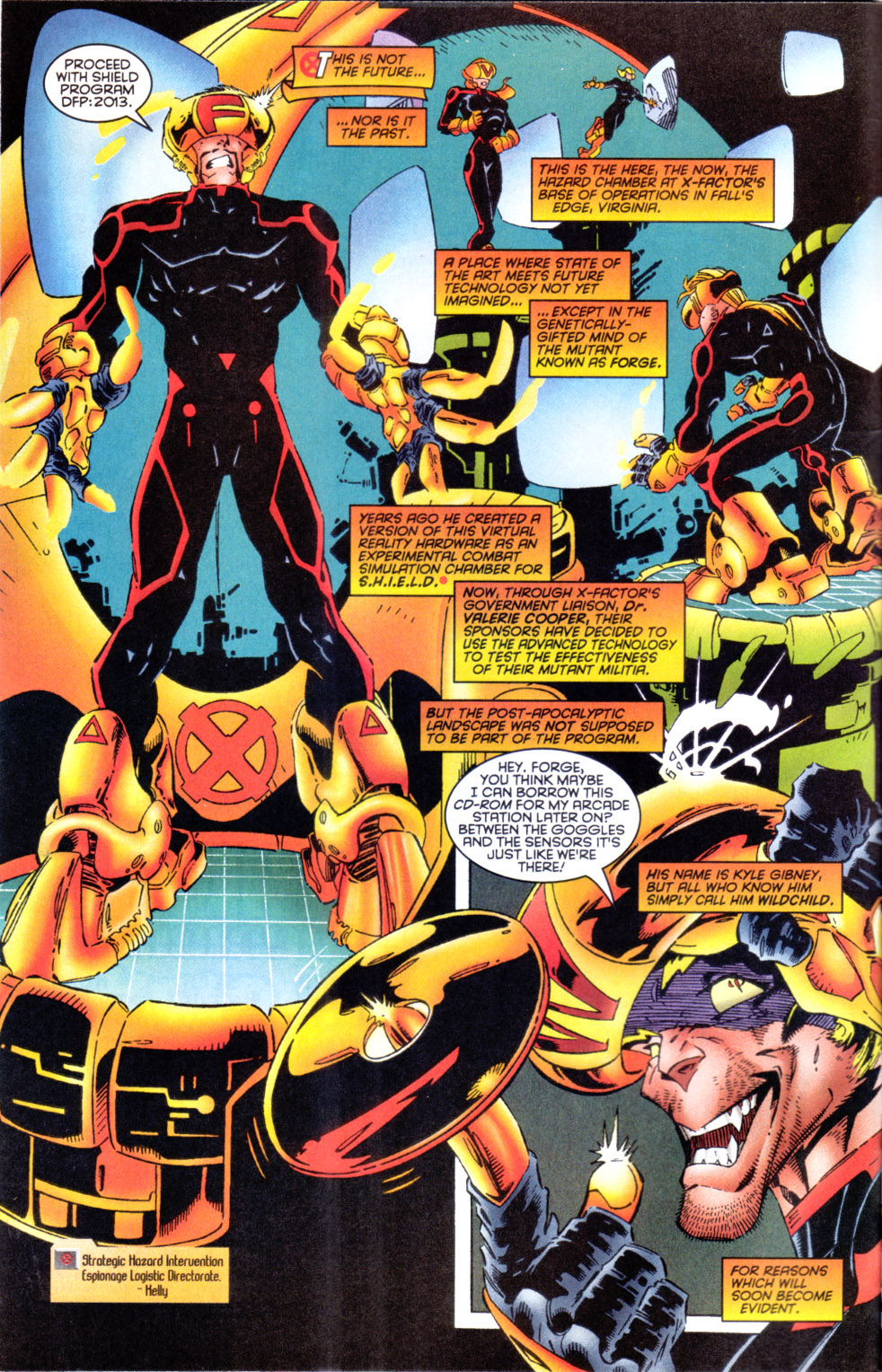 Read online X-Factor (1986) comic -  Issue #124 - 3
