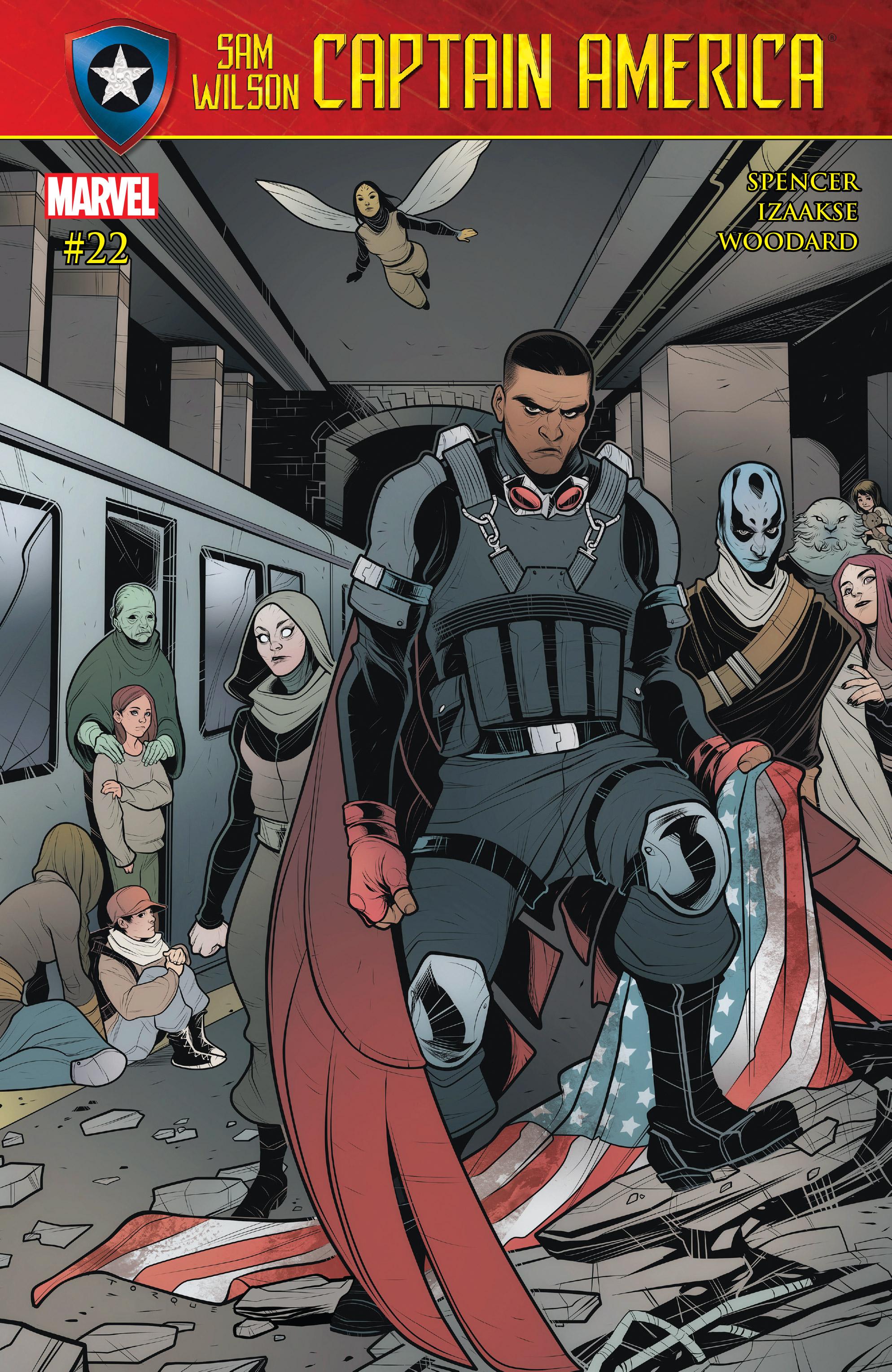 Read online Captain America: Sam Wilson comic -  Issue #22 - 1