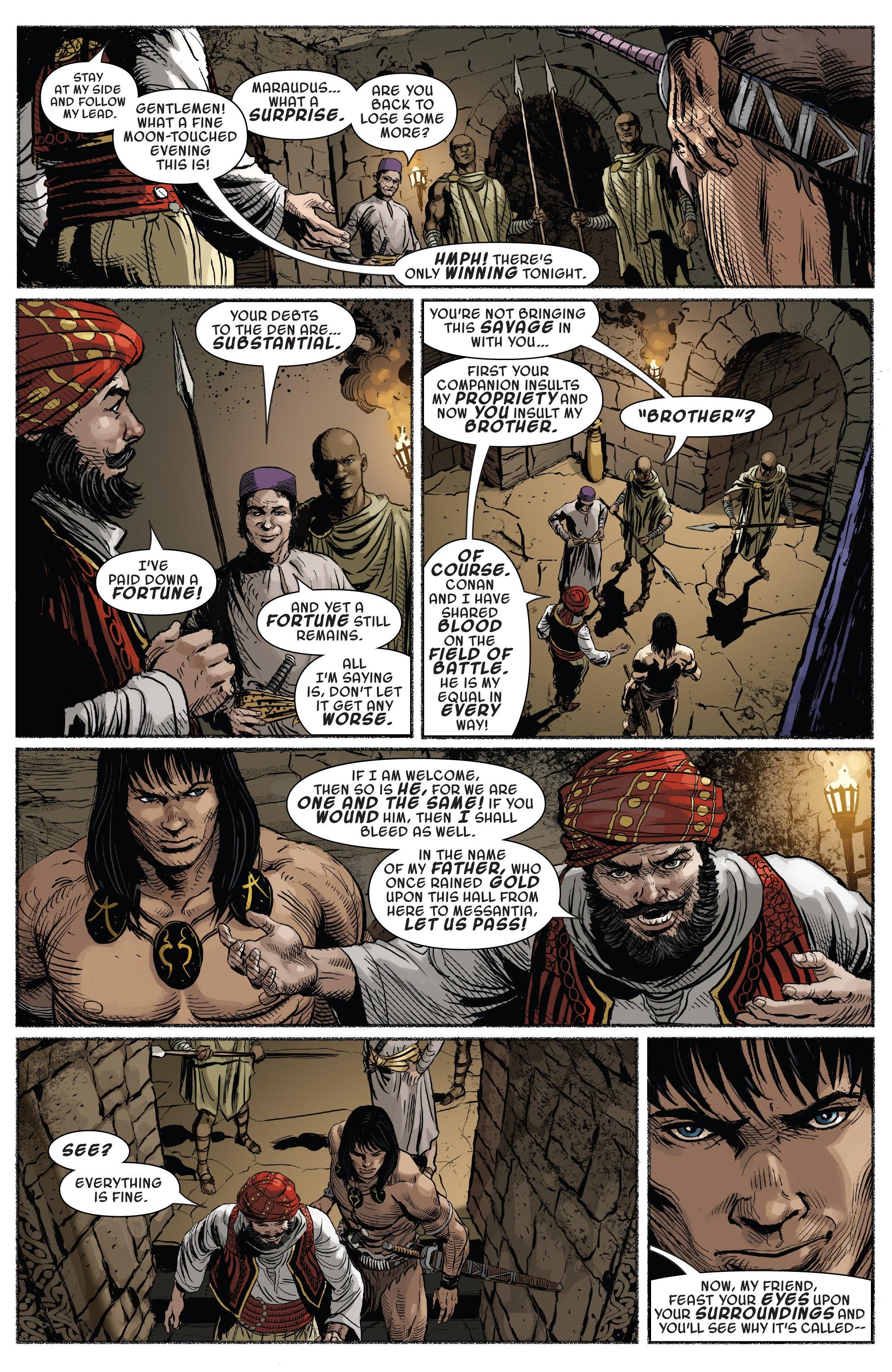 Read online Savage Sword of Conan comic -  Issue #7 - 10