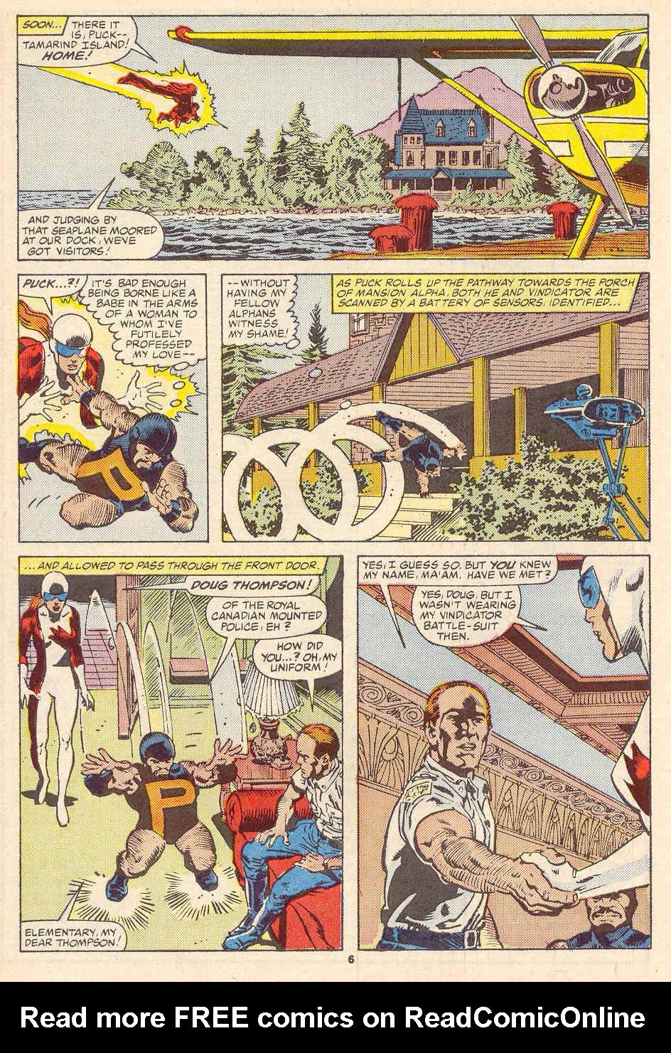 Read online Alpha Flight (1983) comic -  Issue #35 - 7