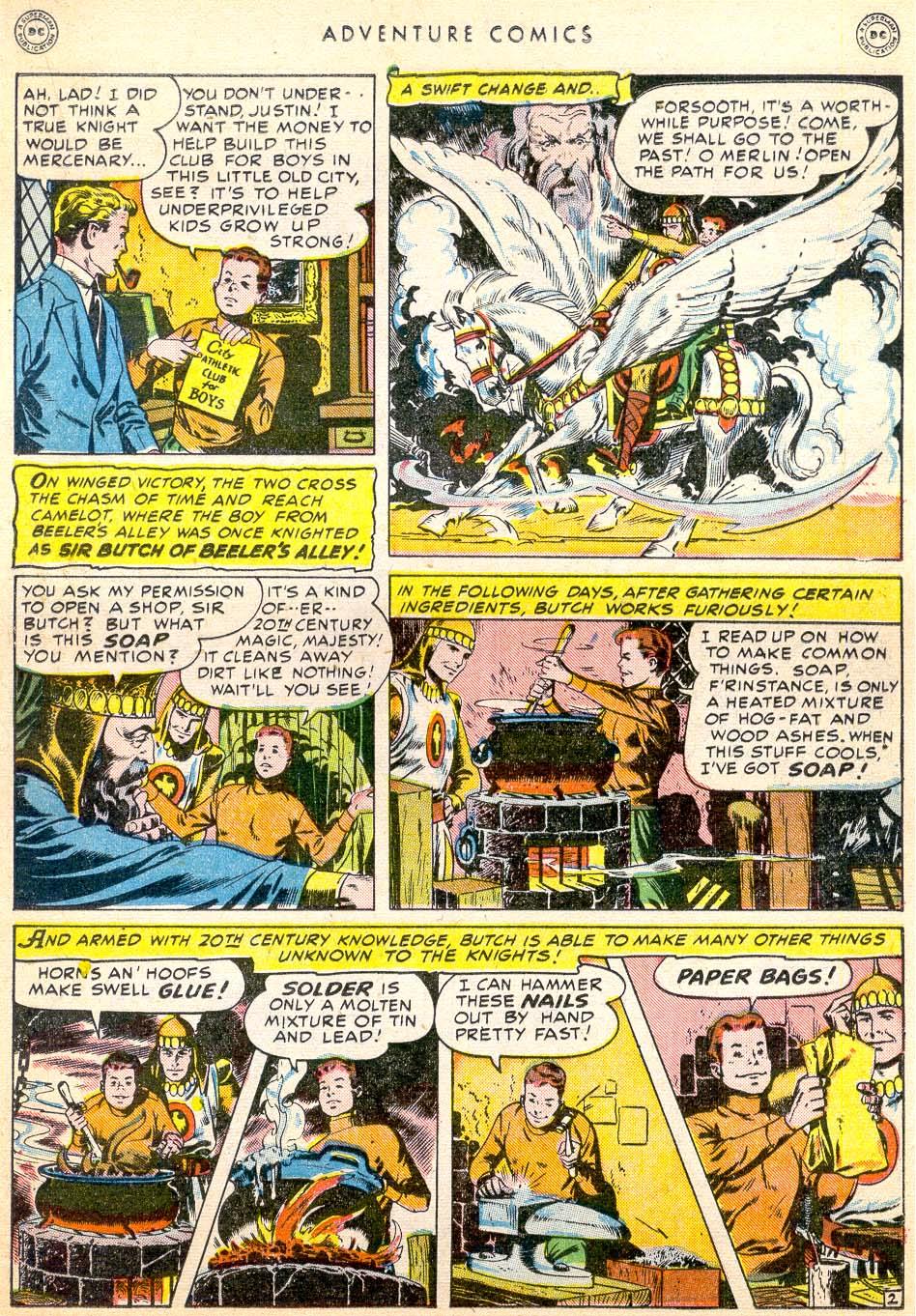 Read online Adventure Comics (1938) comic -  Issue #144 - 22