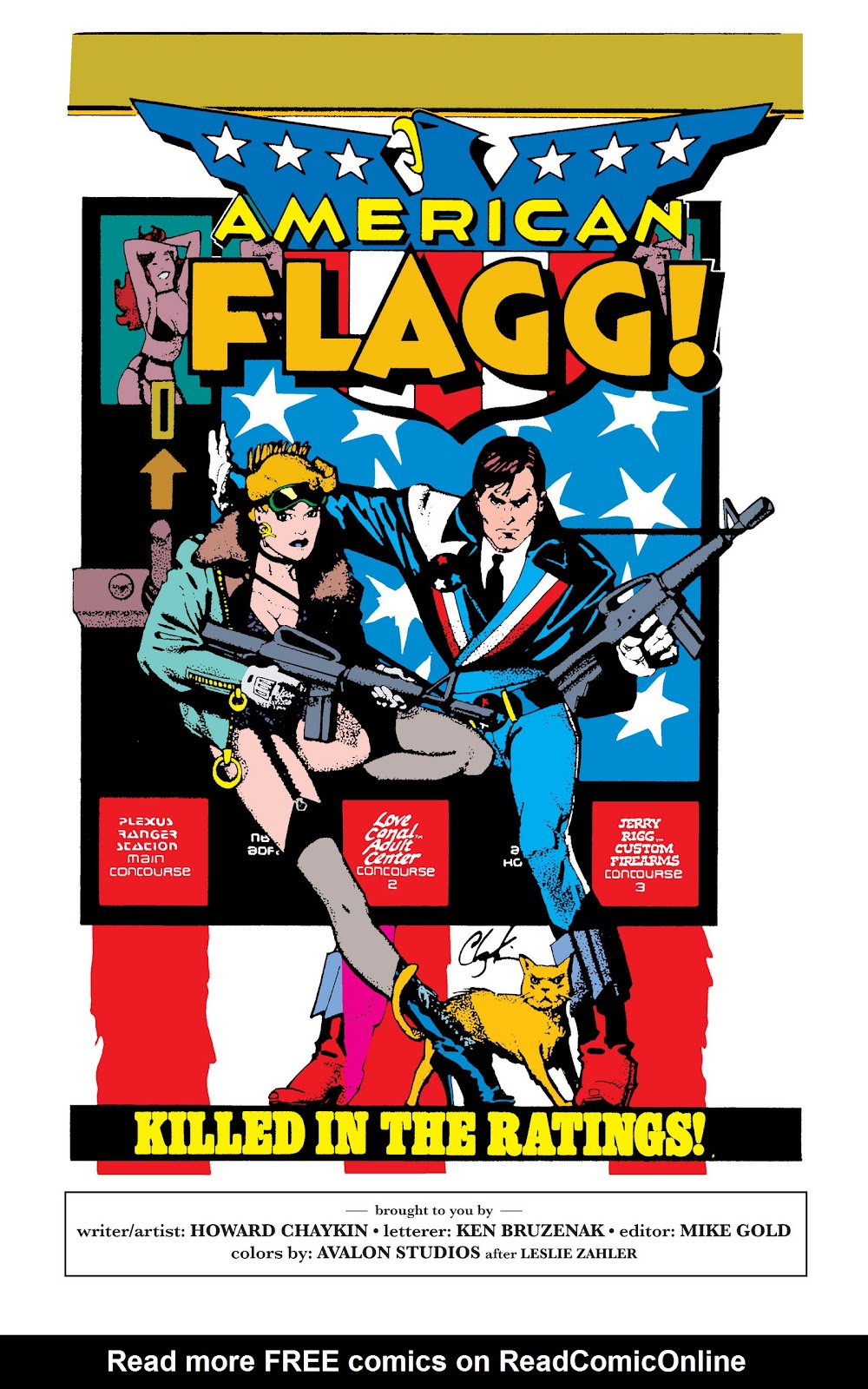 American Flagg! issue Definitive Collection (Part 1) - Page 83