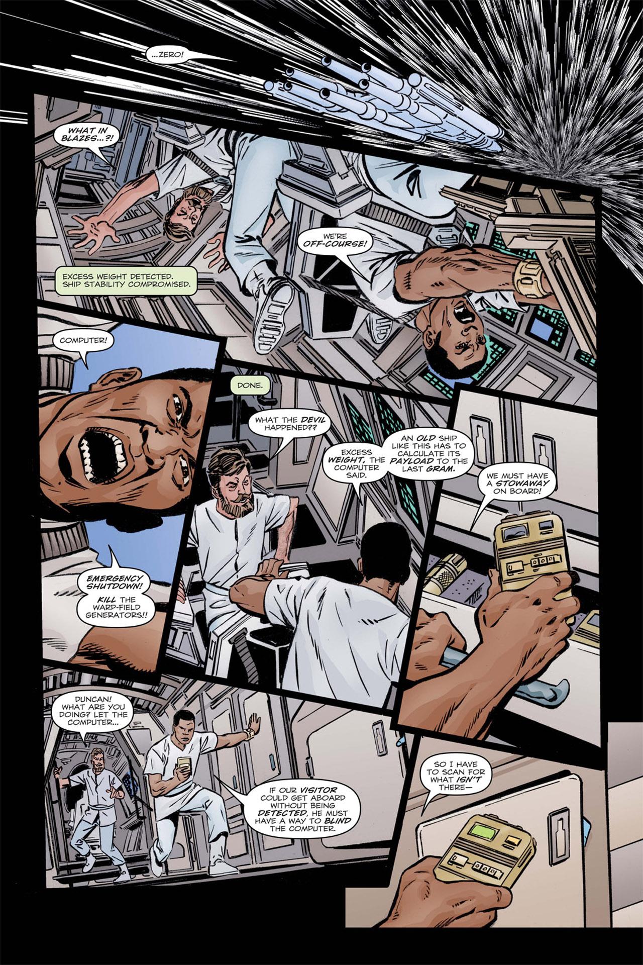 Read online Star Trek: Leonard McCoy, Frontier Doctor comic -  Issue #1 - 8