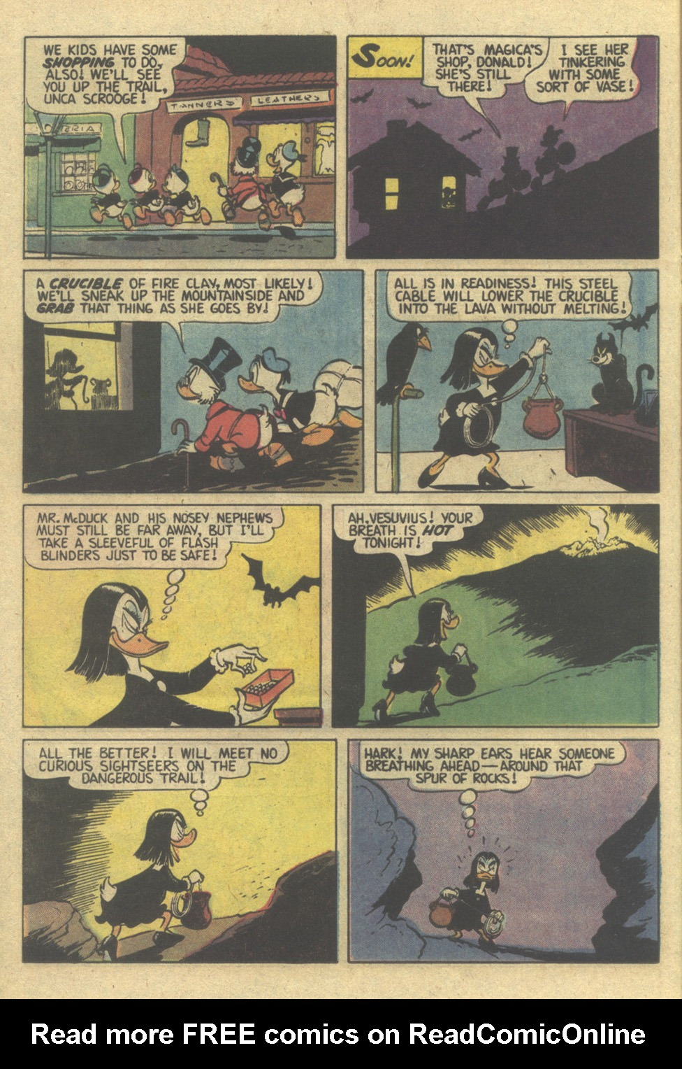 Read online Uncle Scrooge (1953) comic -  Issue #207 - 16