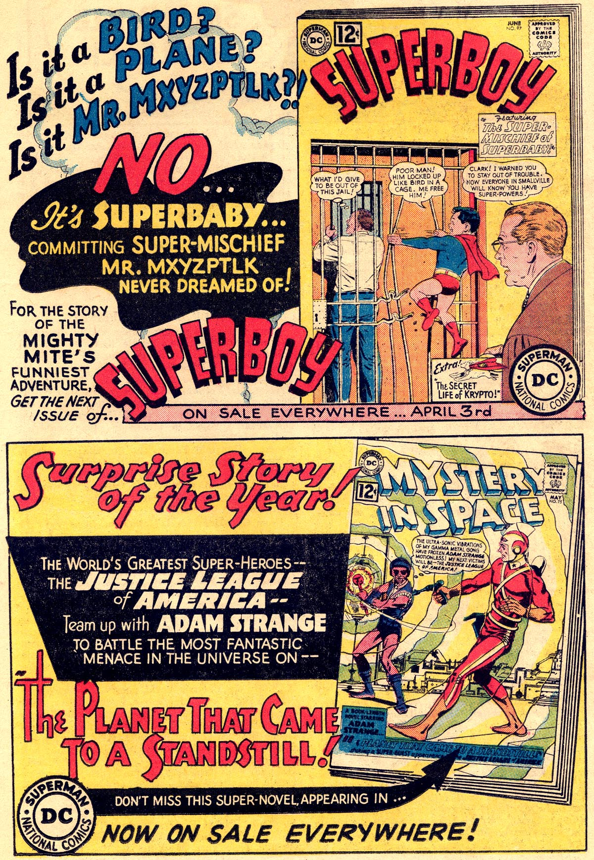 Read online Adventure Comics (1938) comic -  Issue #296 - 17