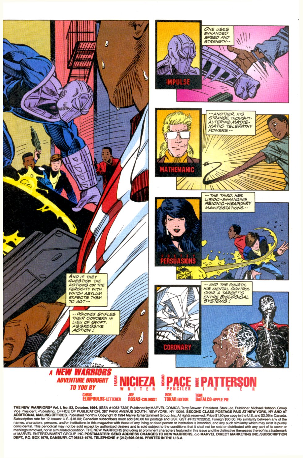 The New Warriors Issue #52 #56 - English 4