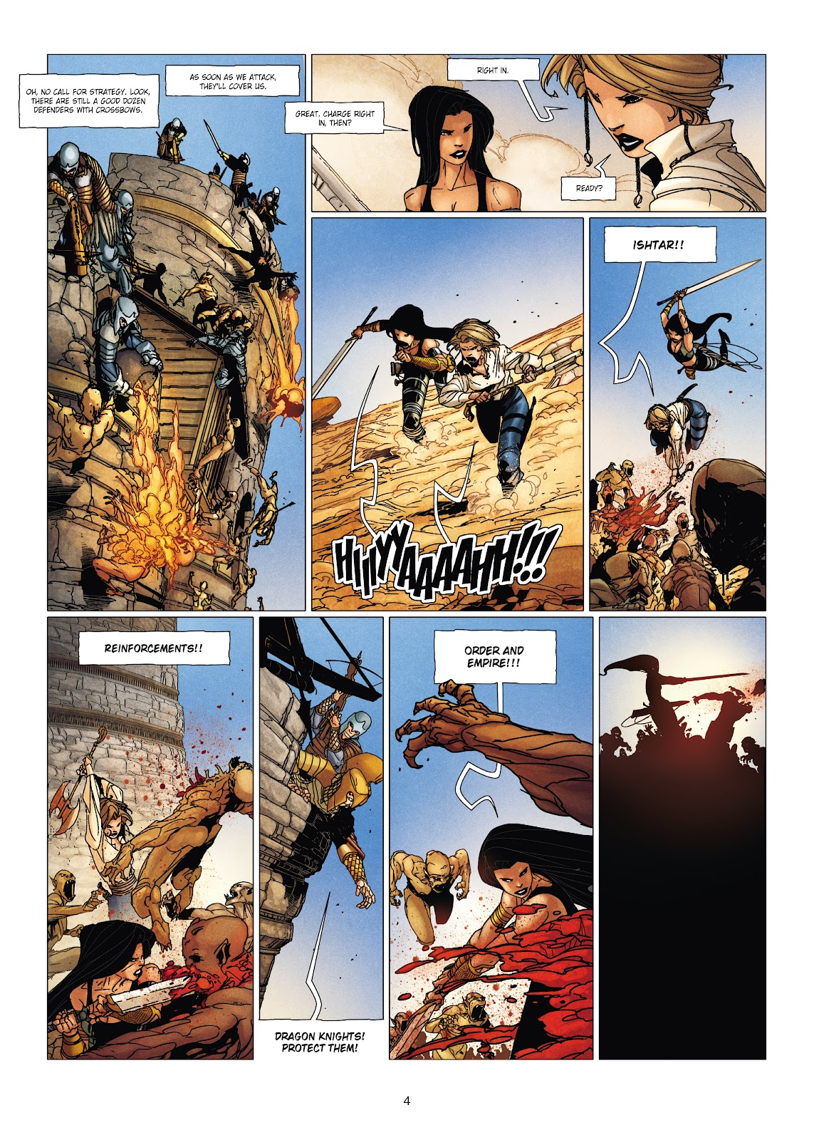 Read online Chronicles of the Dragon Knights comic -  Issue #19 - 4
