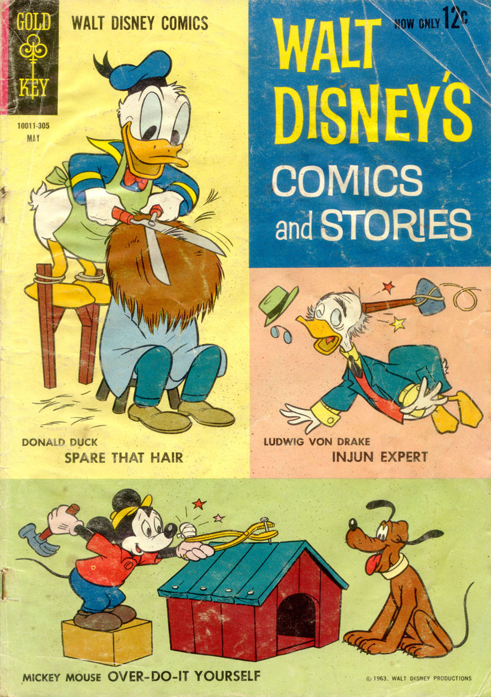 Walt Disneys Comics and Stories issue 272 - Page 1