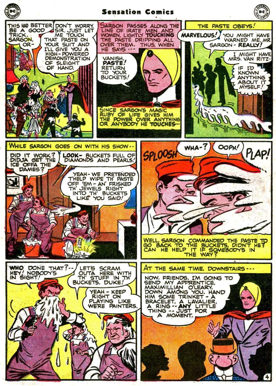 Read online Sensation (Mystery) Comics comic -  Issue #64 - 32
