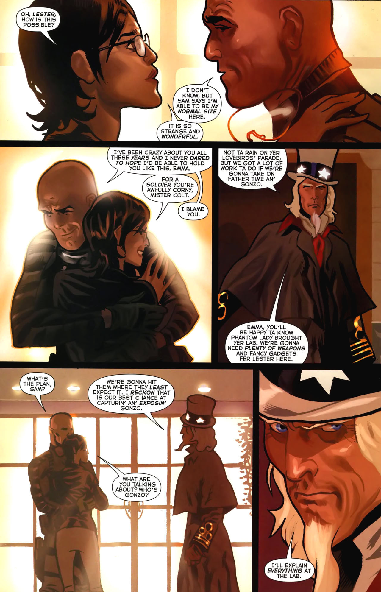 Read online Uncle Sam and the Freedom Fighters (2006) comic -  Issue #4 - 17