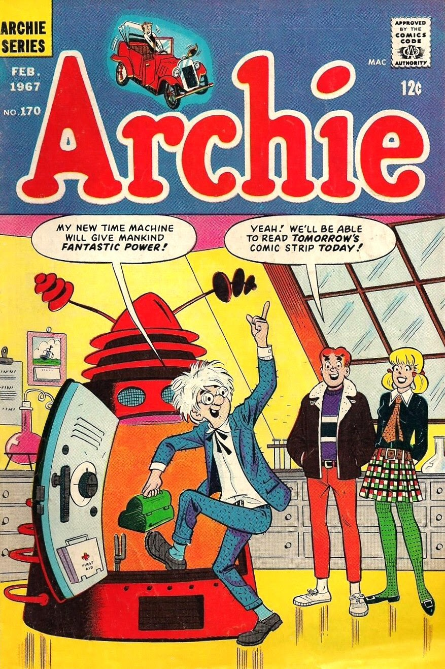 Read online Archie (1960) comic -  Issue #170 - 1