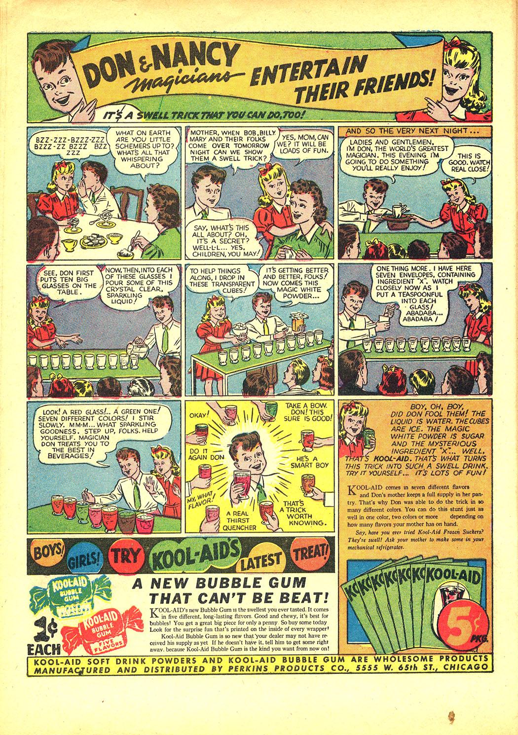 Read online Sensation (Mystery) Comics comic -  Issue #8 - 16