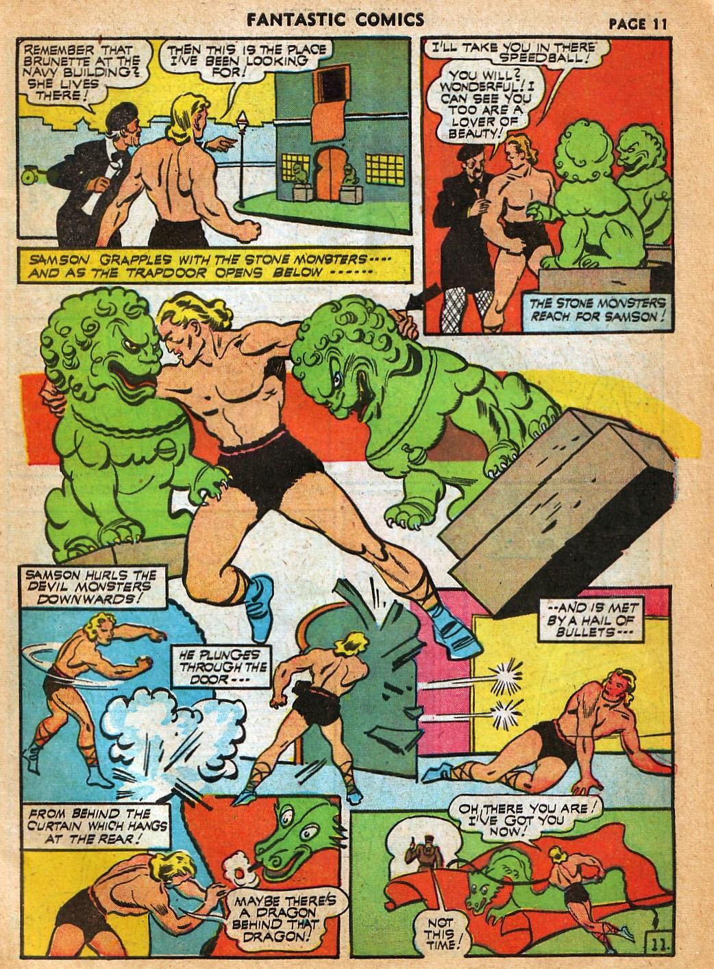 Read online Fantastic Comics comic -  Issue #22 - 13