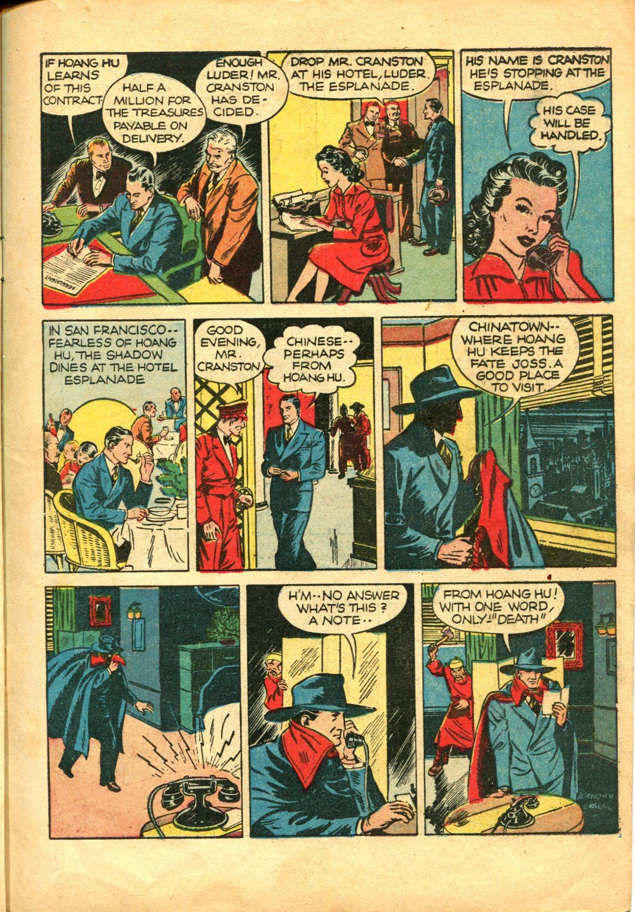 Read online Shadow Comics comic -  Issue #10 - 11