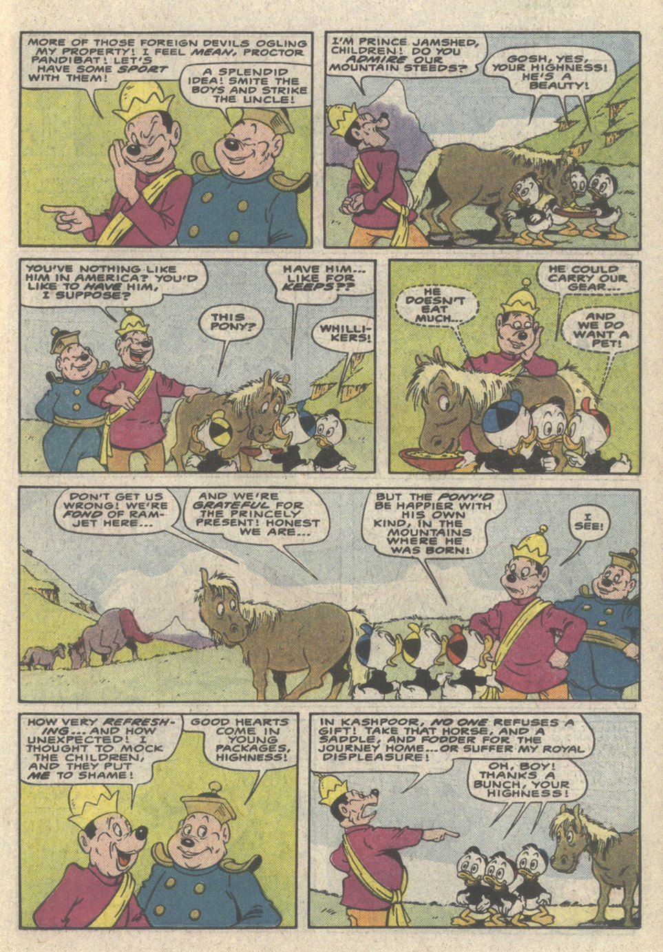 Read online Uncle Scrooge (1953) comic -  Issue #223 - 19