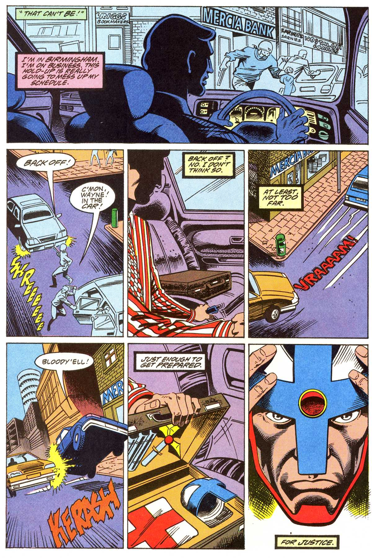 Read online Peter Cannon--Thunderbolt (1992) comic -  Issue #4 - 13