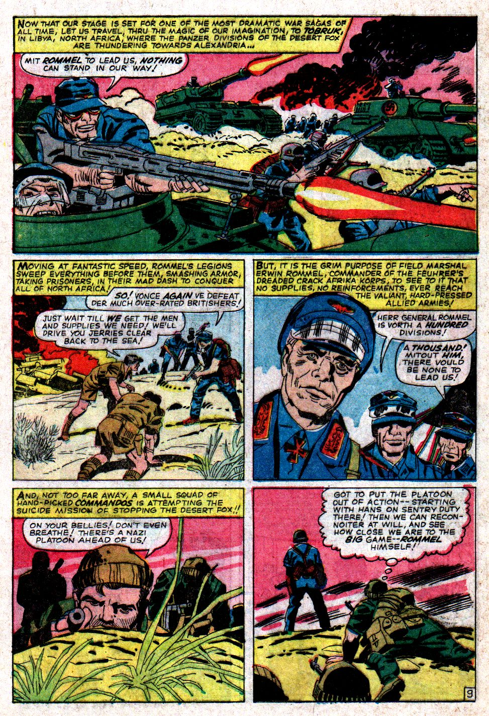 Read online Sgt. Fury comic -  Issue #6 - 12