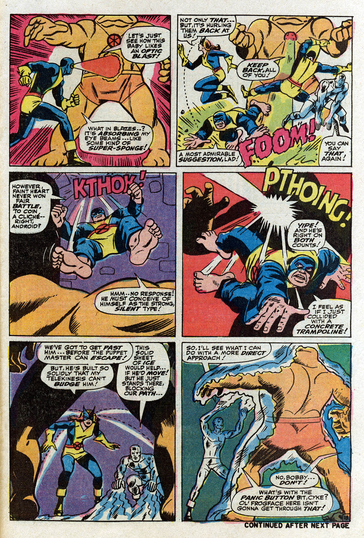 Read online Uncanny X-Men (1963) comic -  Issue #75 - 24