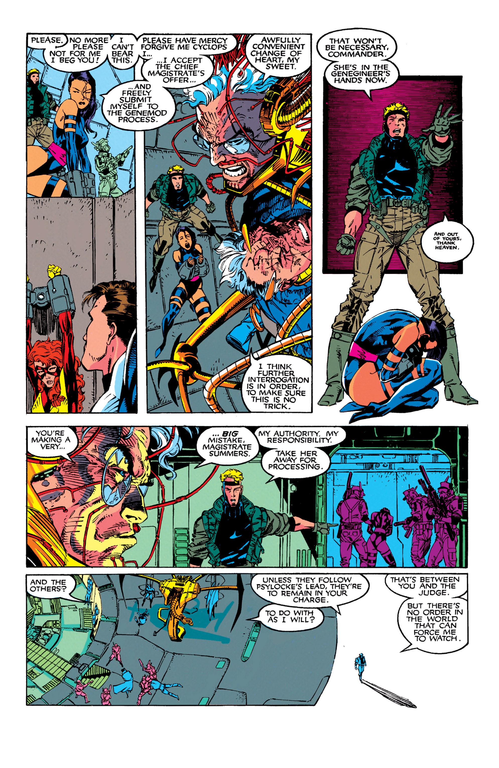 Read online Uncanny X-Men (1963) comic -  Issue #272 - 10