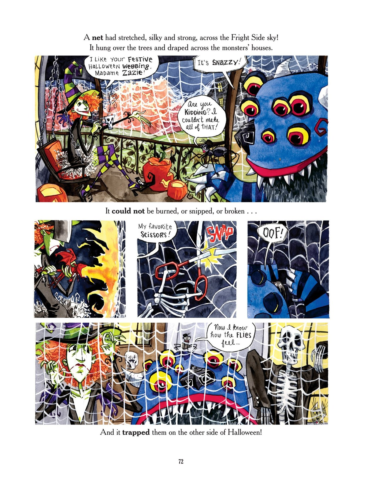 Read online Scary Godmother comic -  Issue # TPB - 72