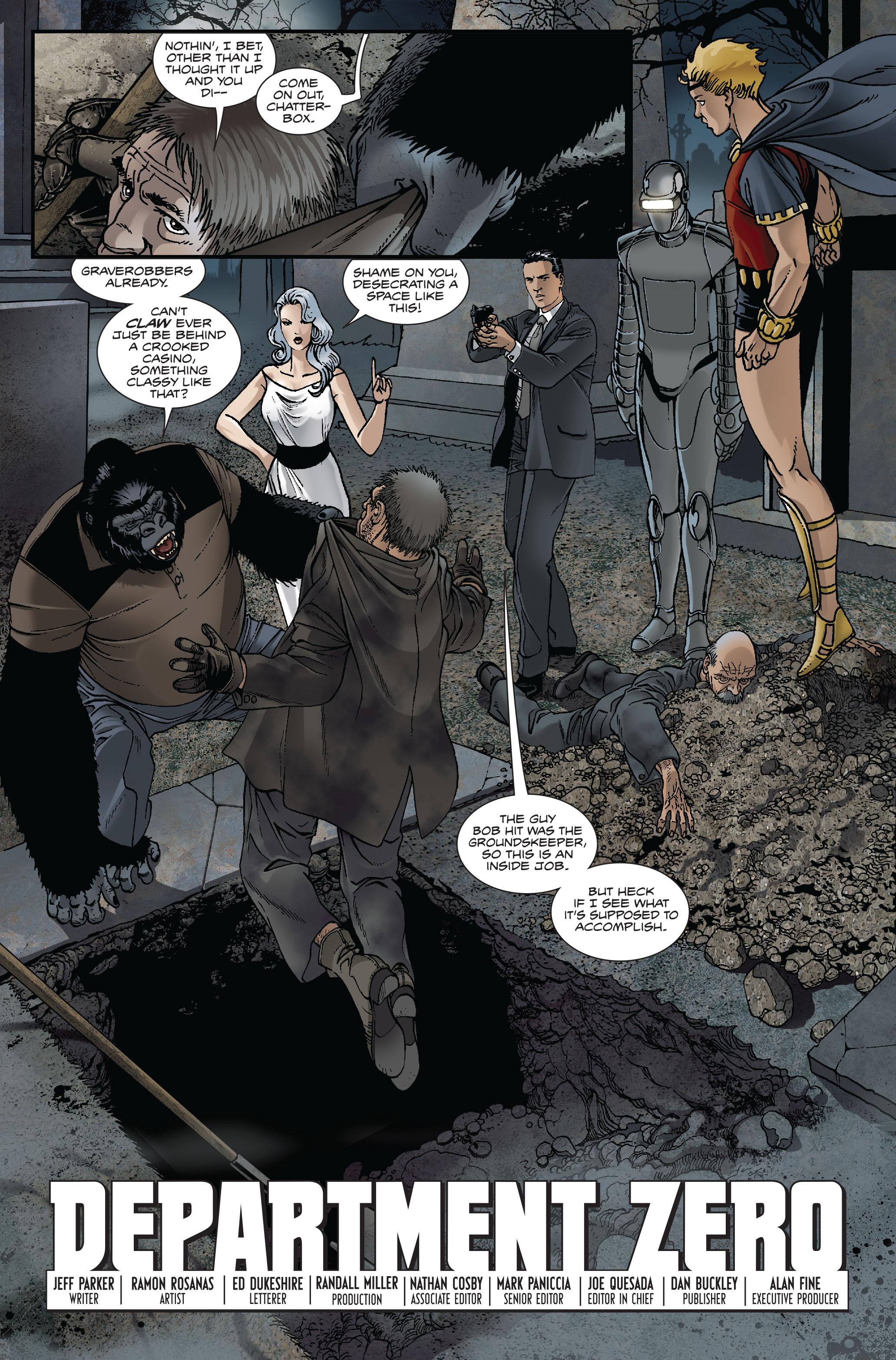Read online Atlas comic -  Issue #1 - 21