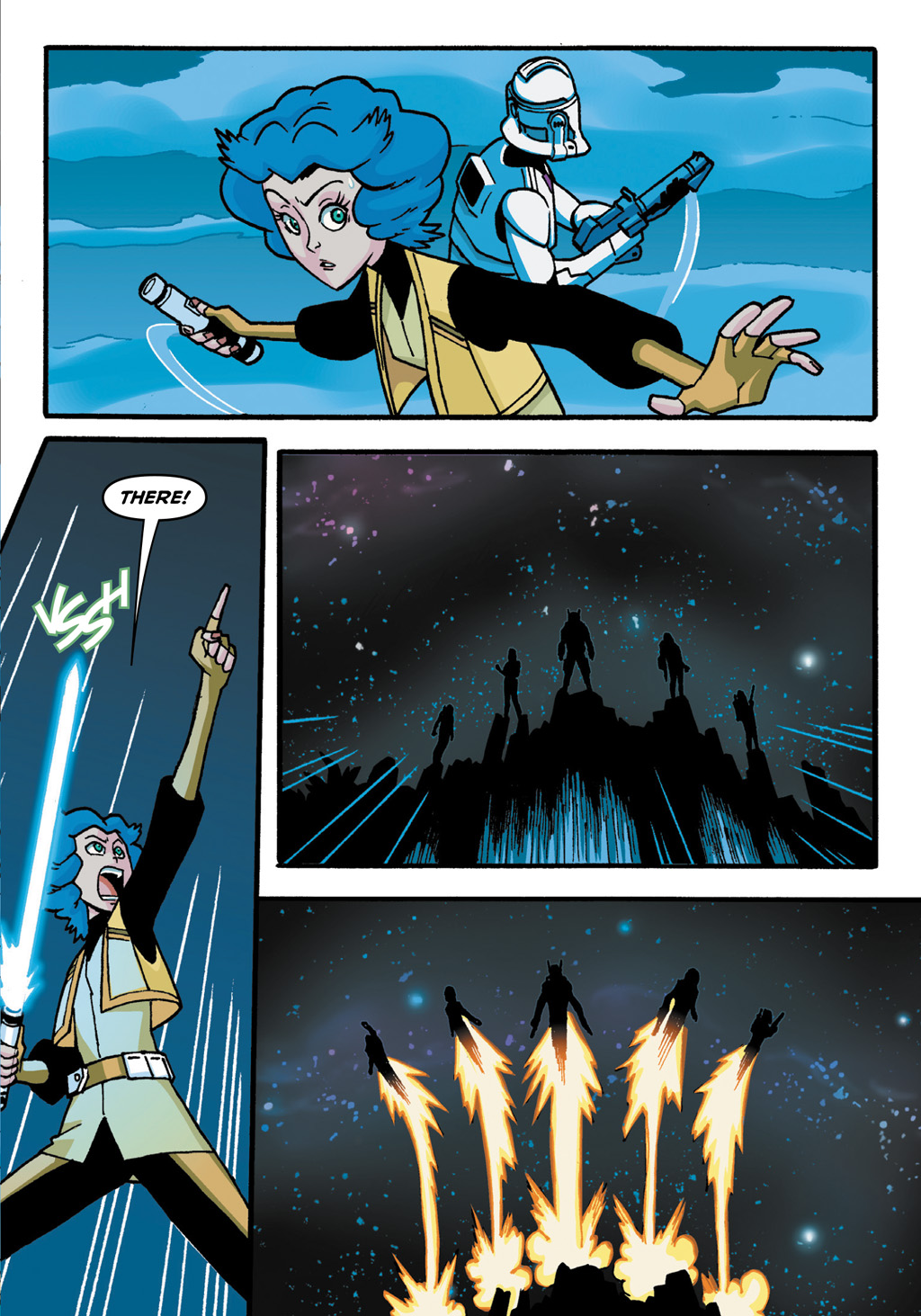 Read online Star Wars: The Clone Wars - Defenders of the Lost Temple comic -  Issue # Full - 46