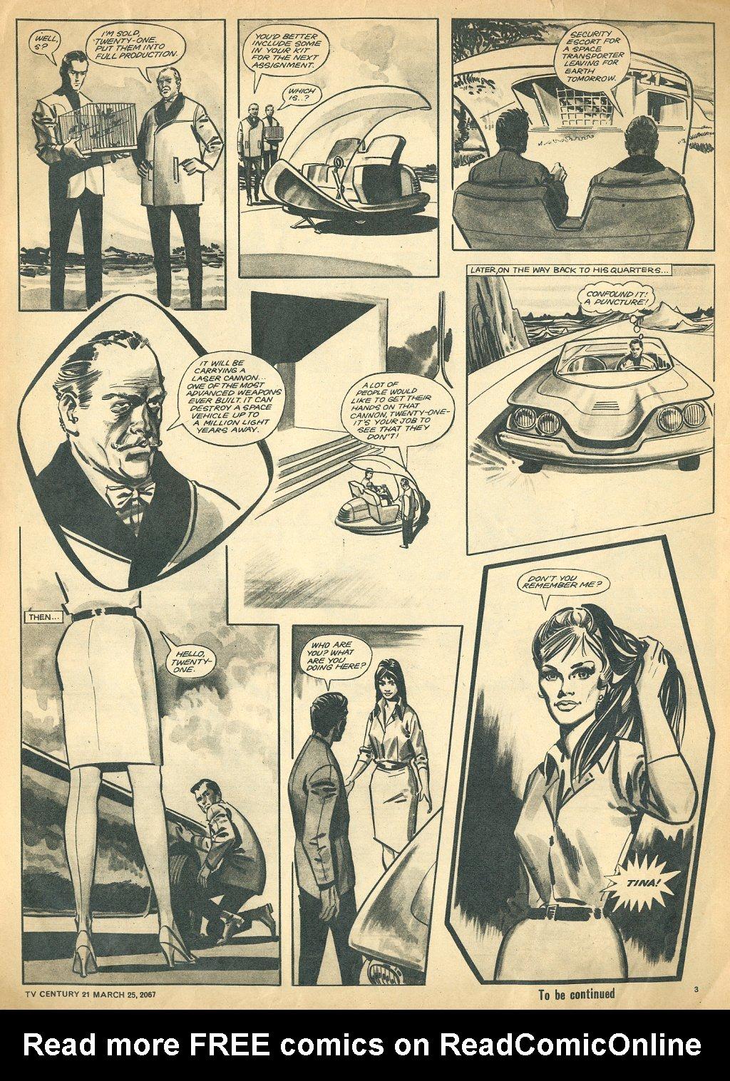 Read online TV Century 21 (TV 21) comic -  Issue #114 - 3