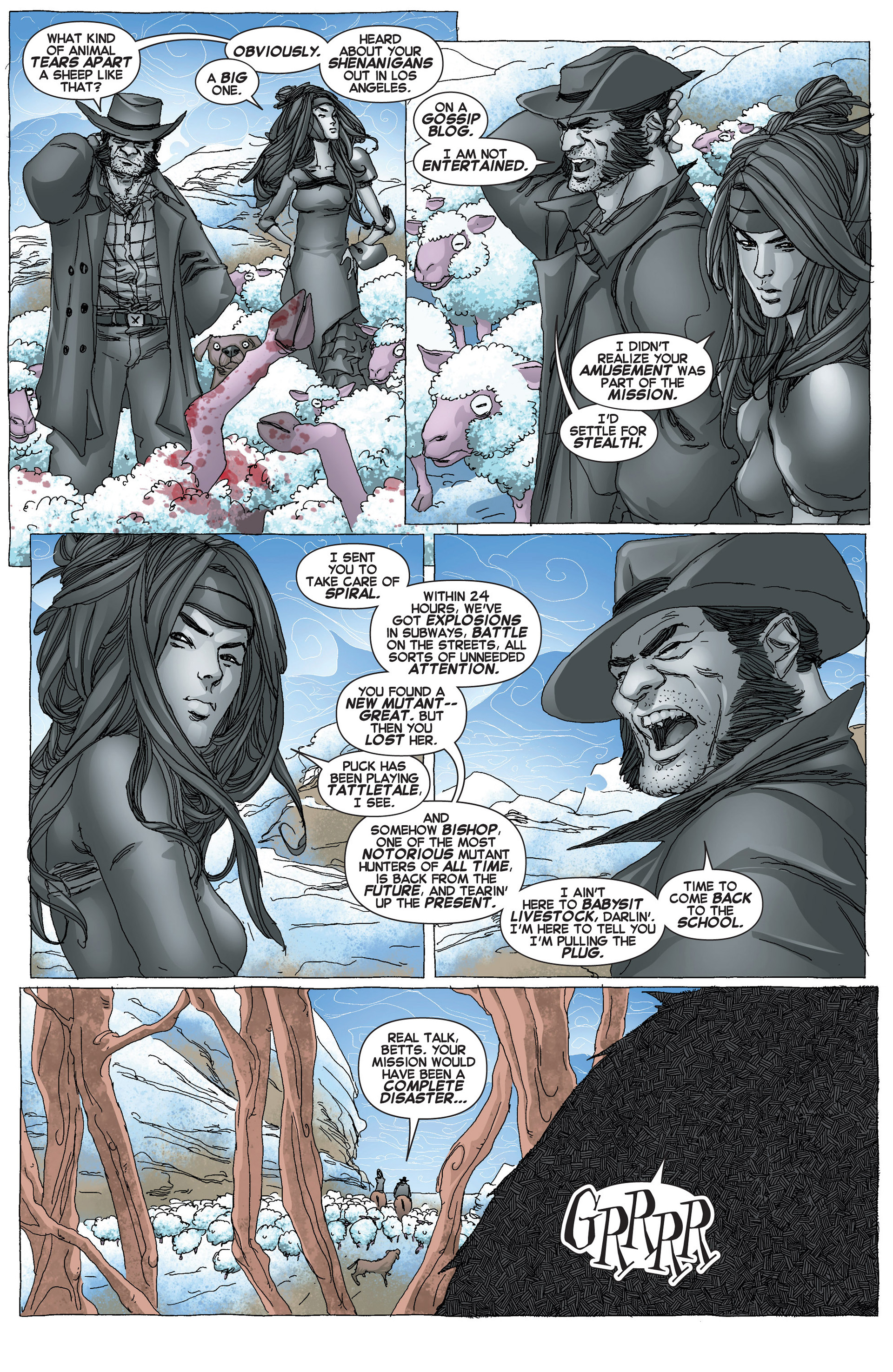 Read online Uncanny X-Force (2013) comic -  Issue #6 - 5