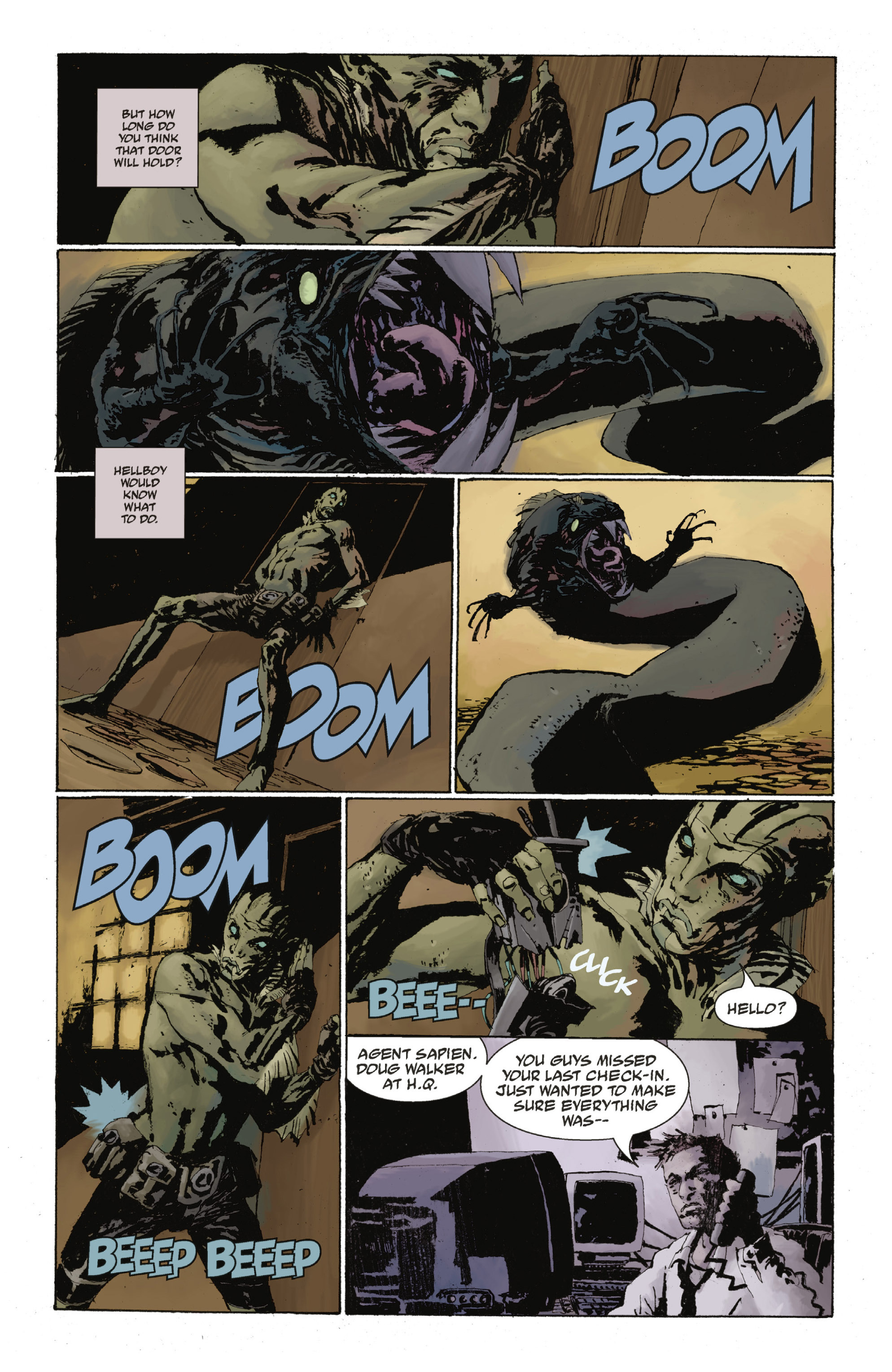 Read online Abe Sapien: The Drowning comic -  Issue #Abe Sapien: The Drowning _TPB - 75