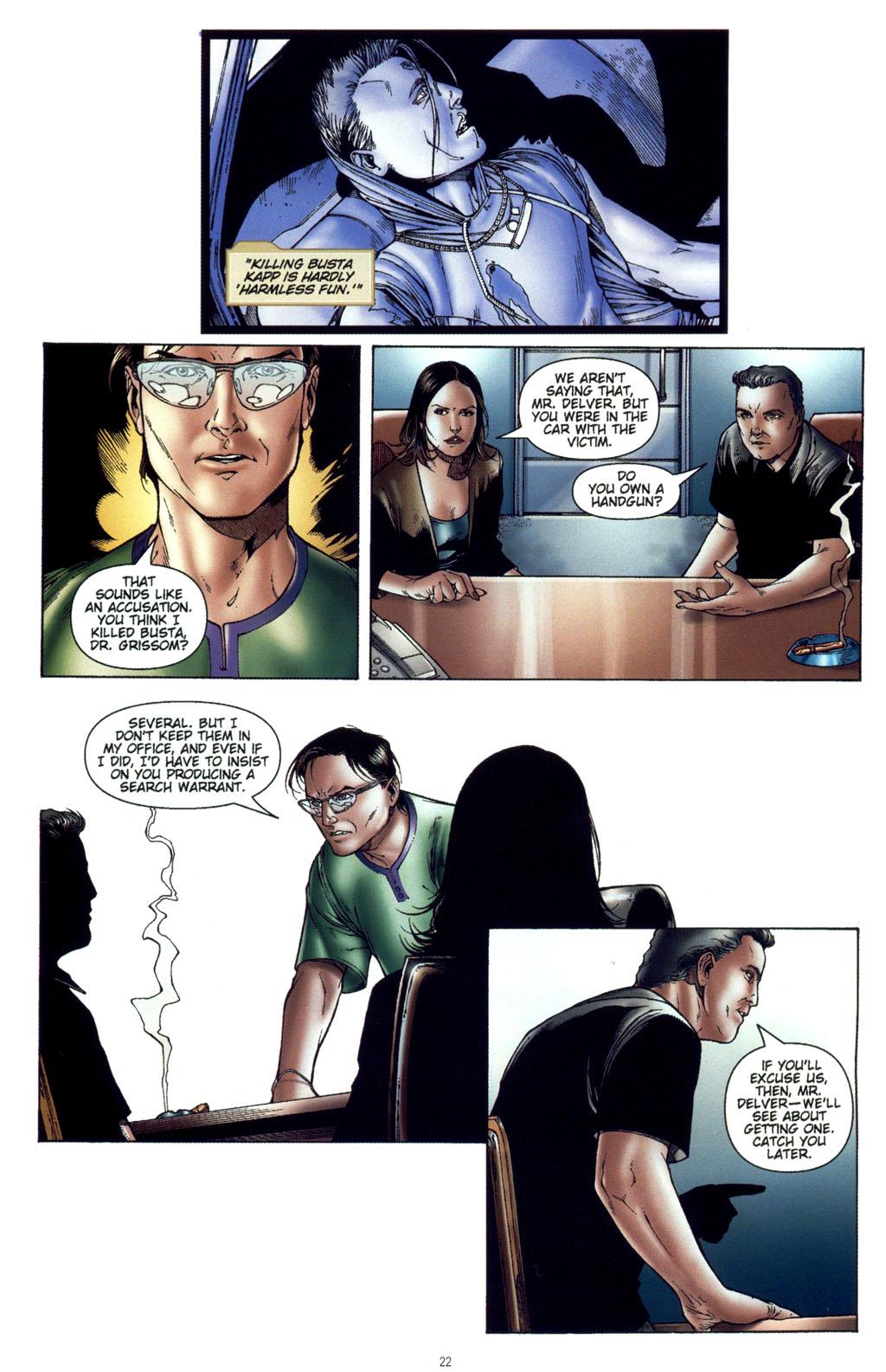 Read online CSI: Crime Scene Investigation: Bad Rap comic -  Issue #4 - 23