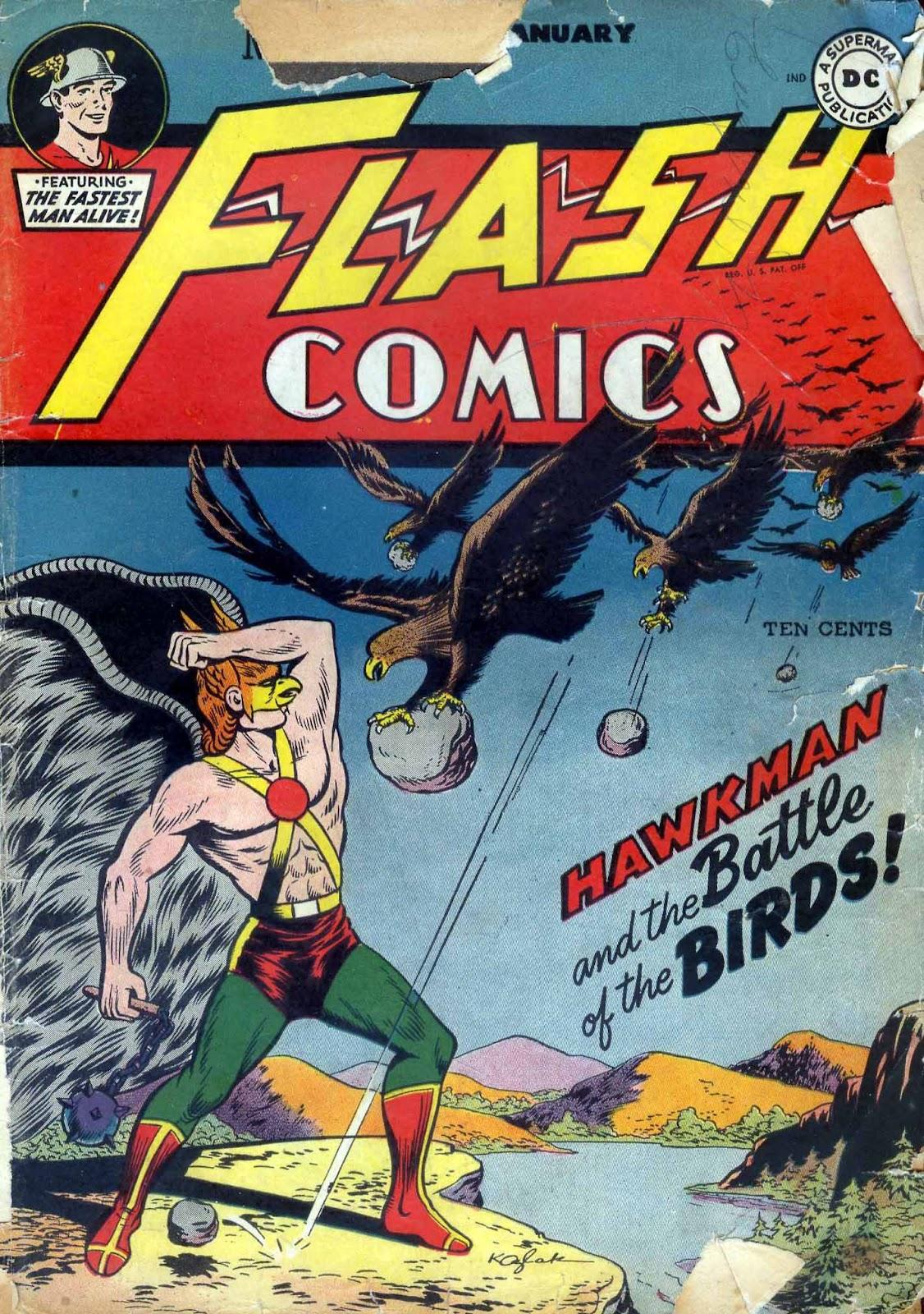 Flash Comics 79 Page 1