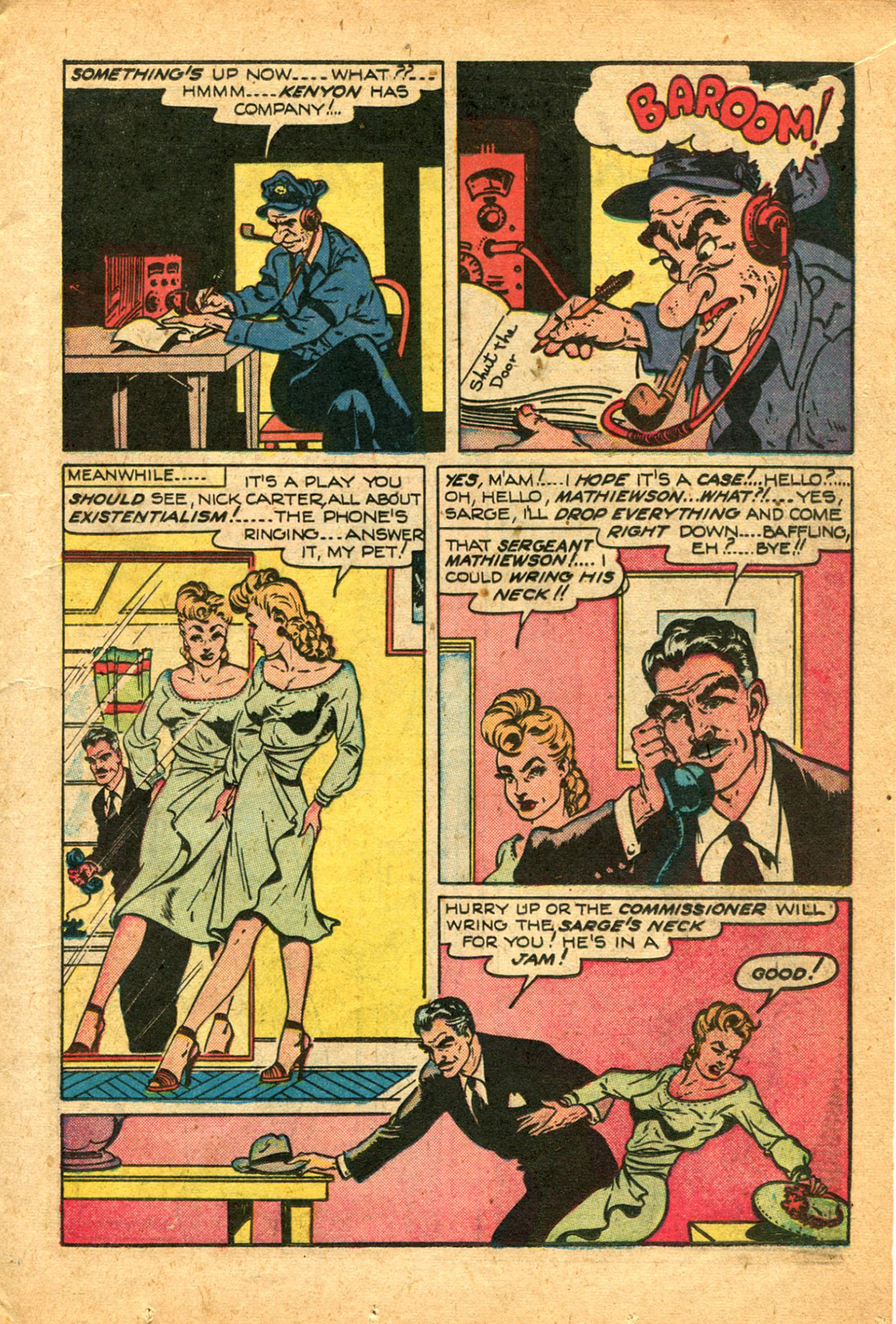 Read online Shadow Comics comic -  Issue #78 - 17