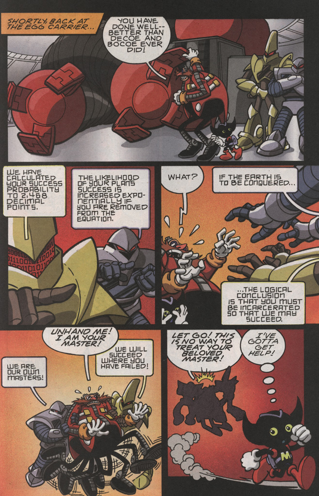 Read online Sonic X comic -  Issue #22 - 23