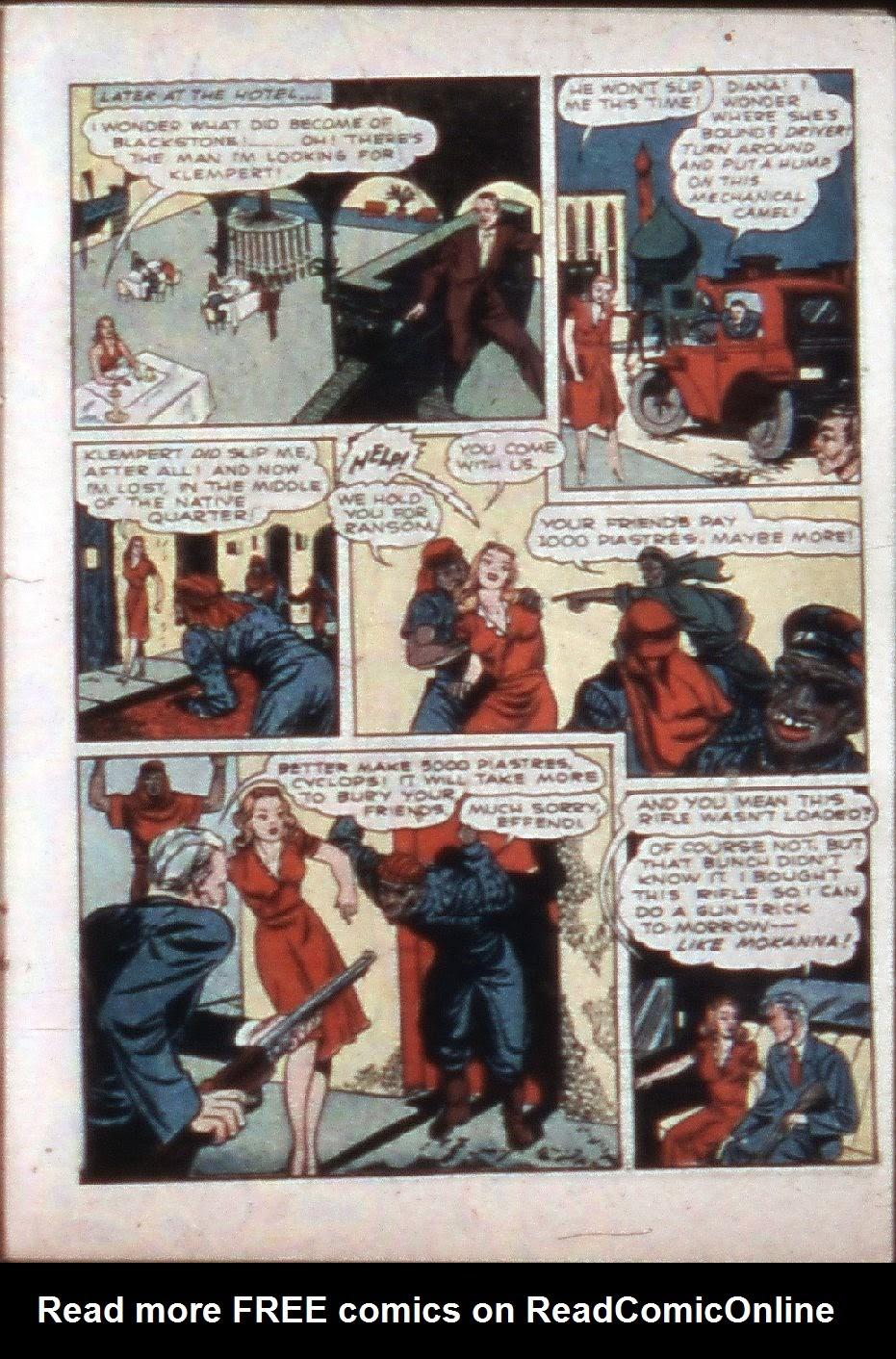 Read online Super-Magician Comics comic -  Issue #3 - 27